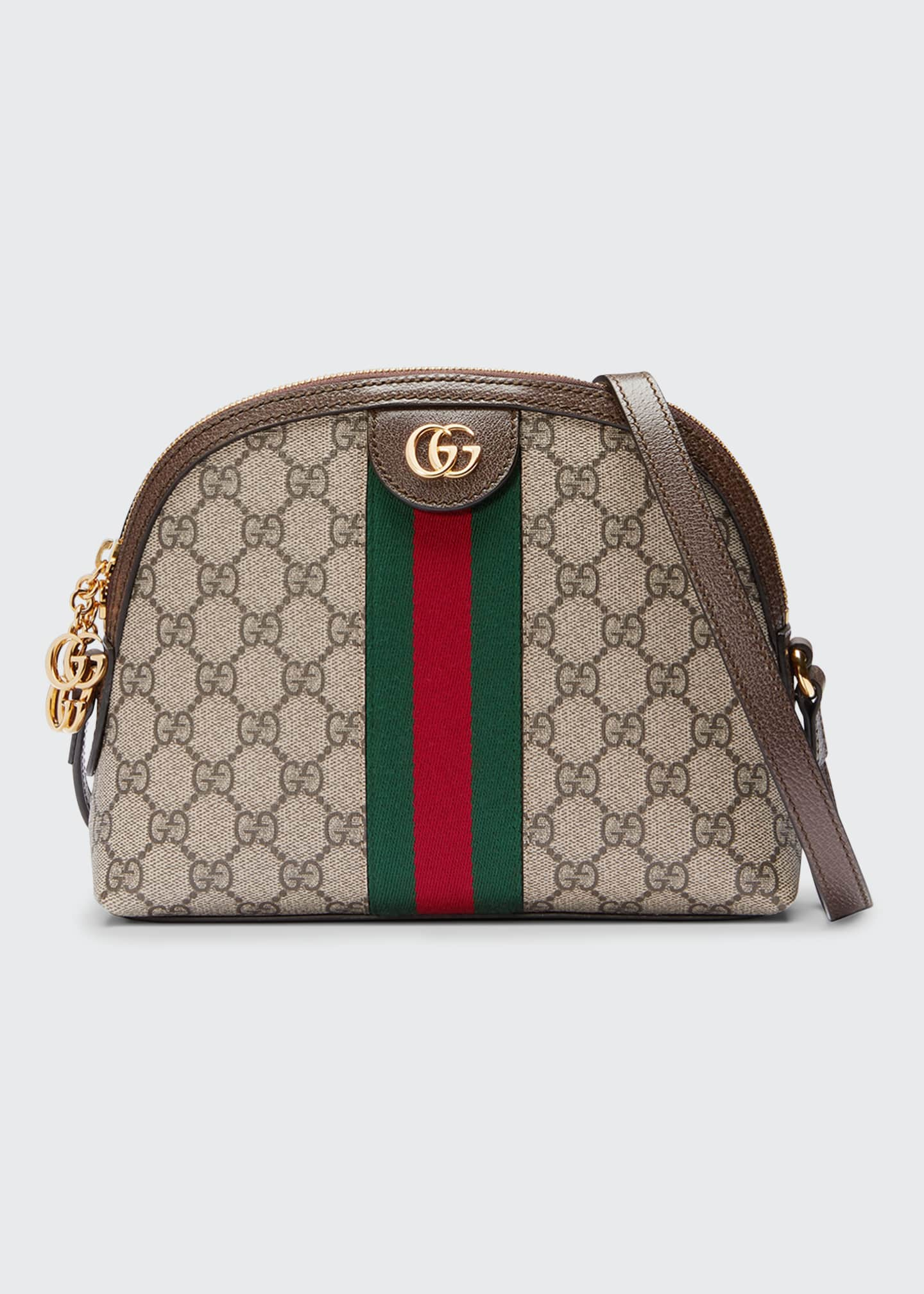 Gucci Linea Dragoni GG Supreme Canvas Small Shoulder