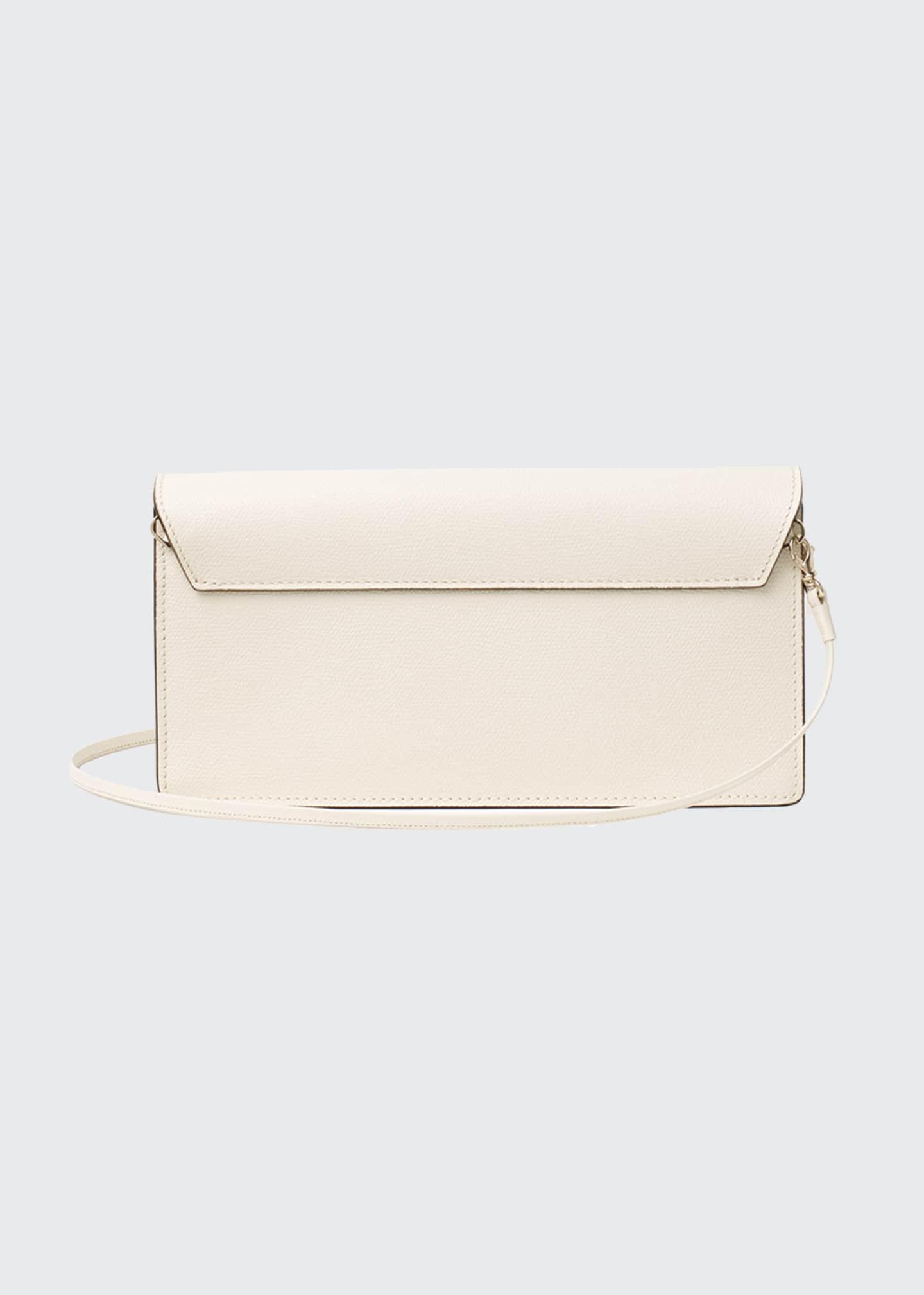 Valextra Iside Leather Envelope Clutch Bag - Bergdorf Goodman