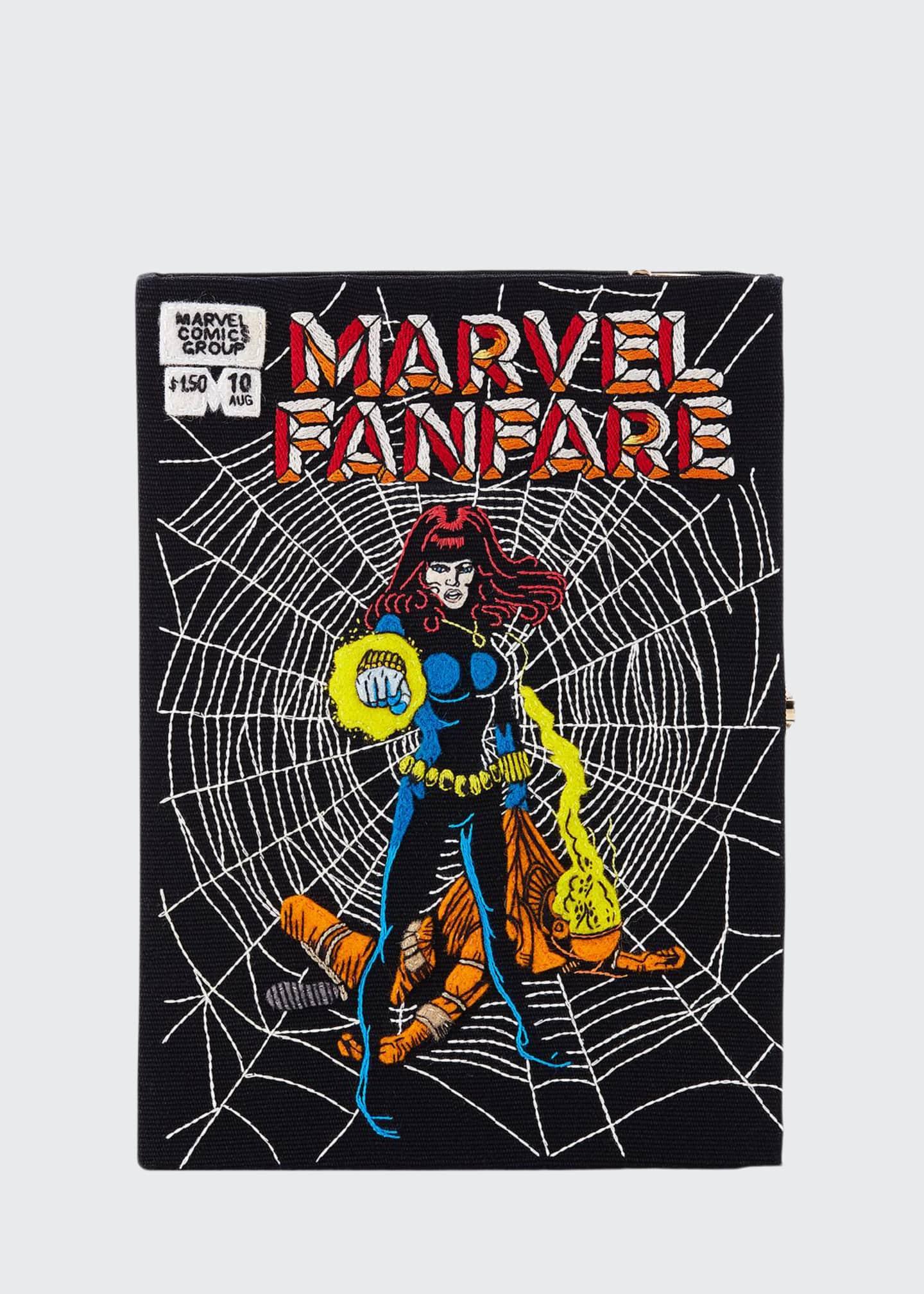 Olympia Le-Tan Marvel® Fanfare Comic Book Clutch Bag