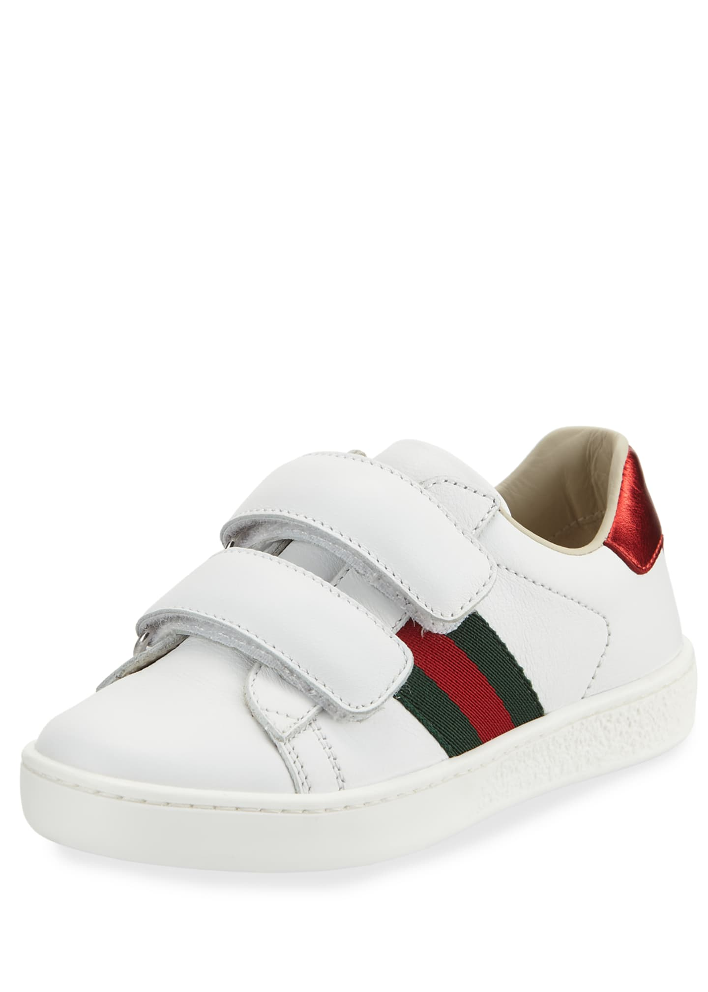 Aceweb new ace web-trim leather sneaker, toddler/kids