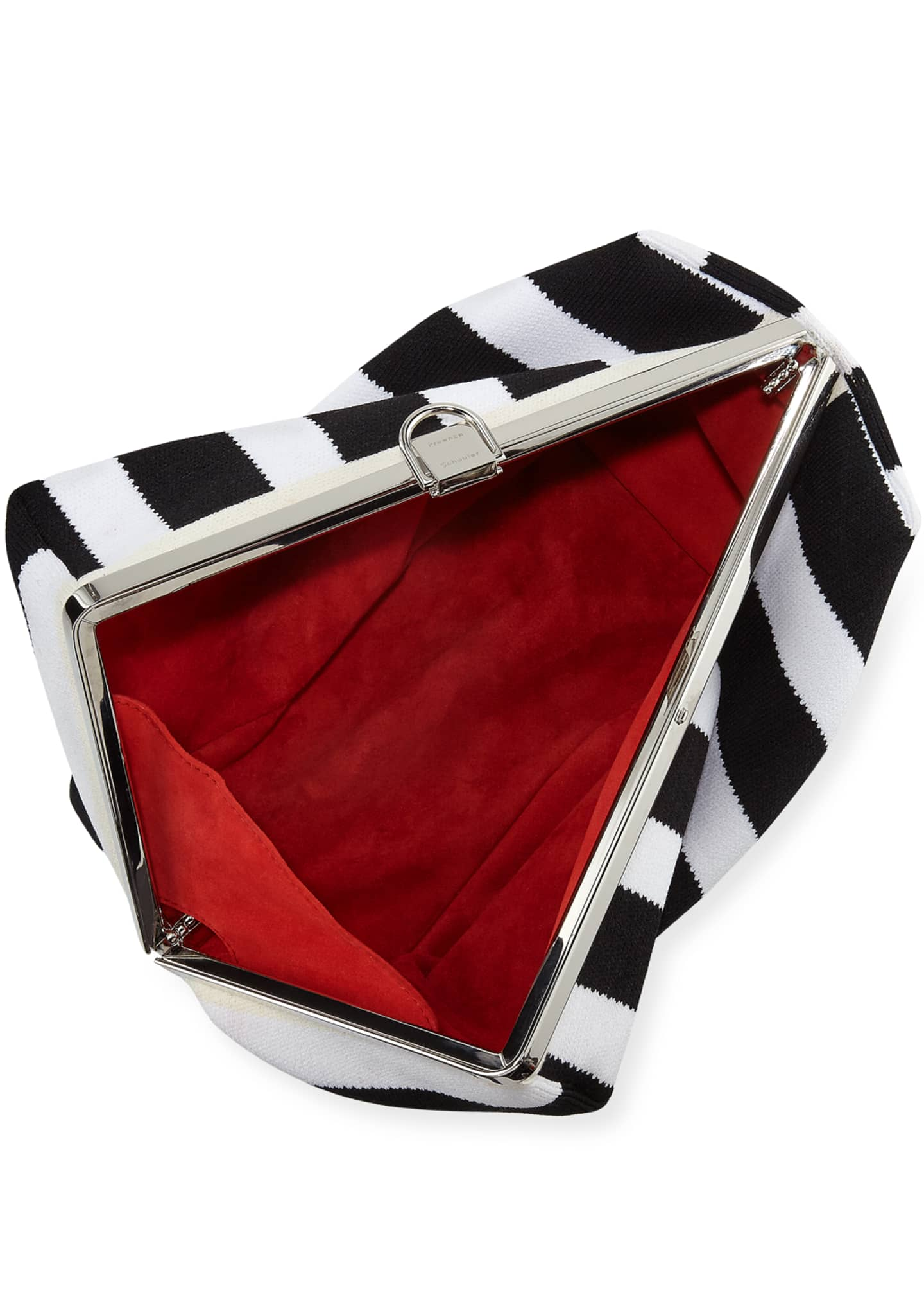 Image 2 of 3: Asymmetric Frame Clutch Bag