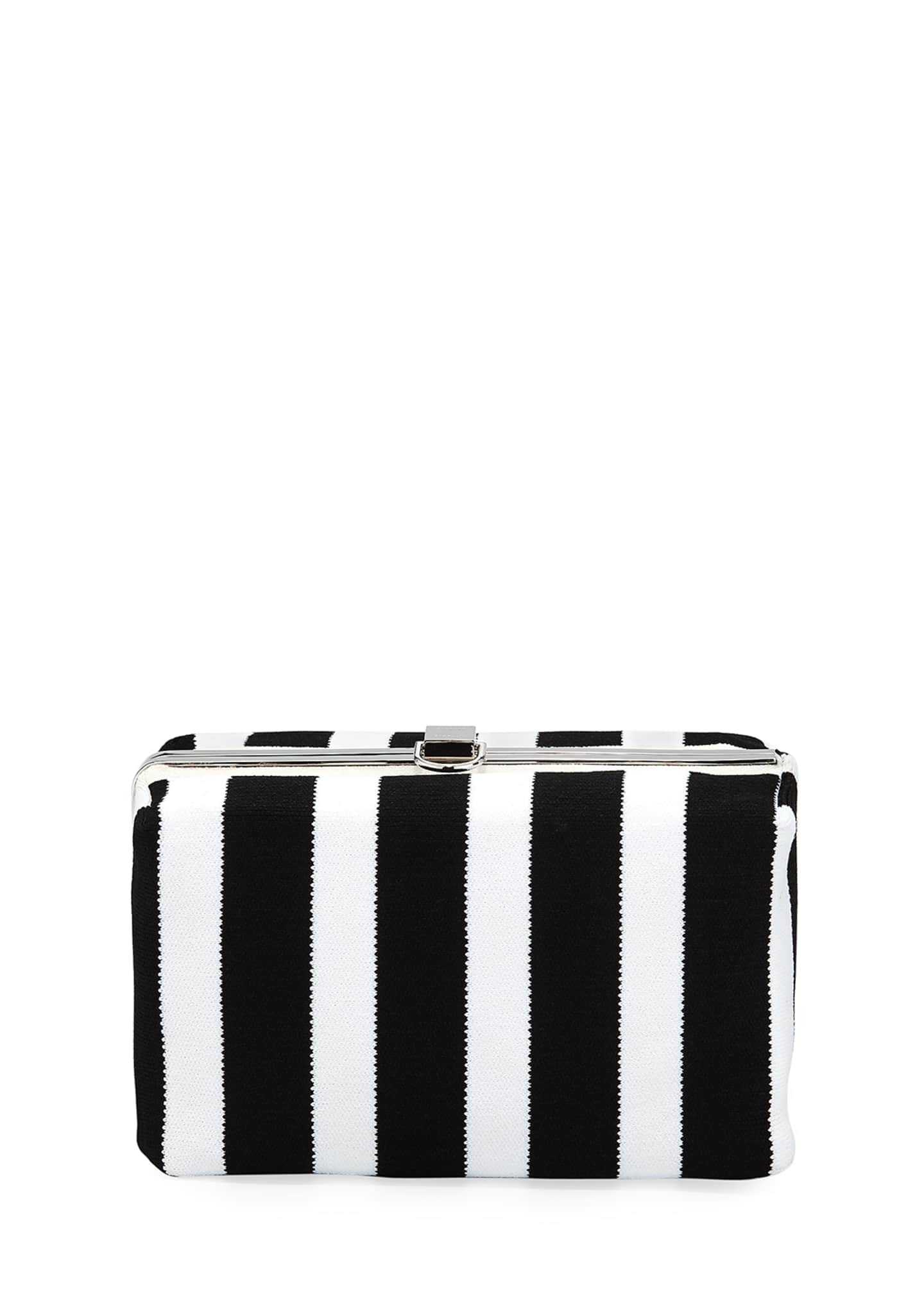 Image 1 of 3: Asymmetric Frame Clutch Bag
