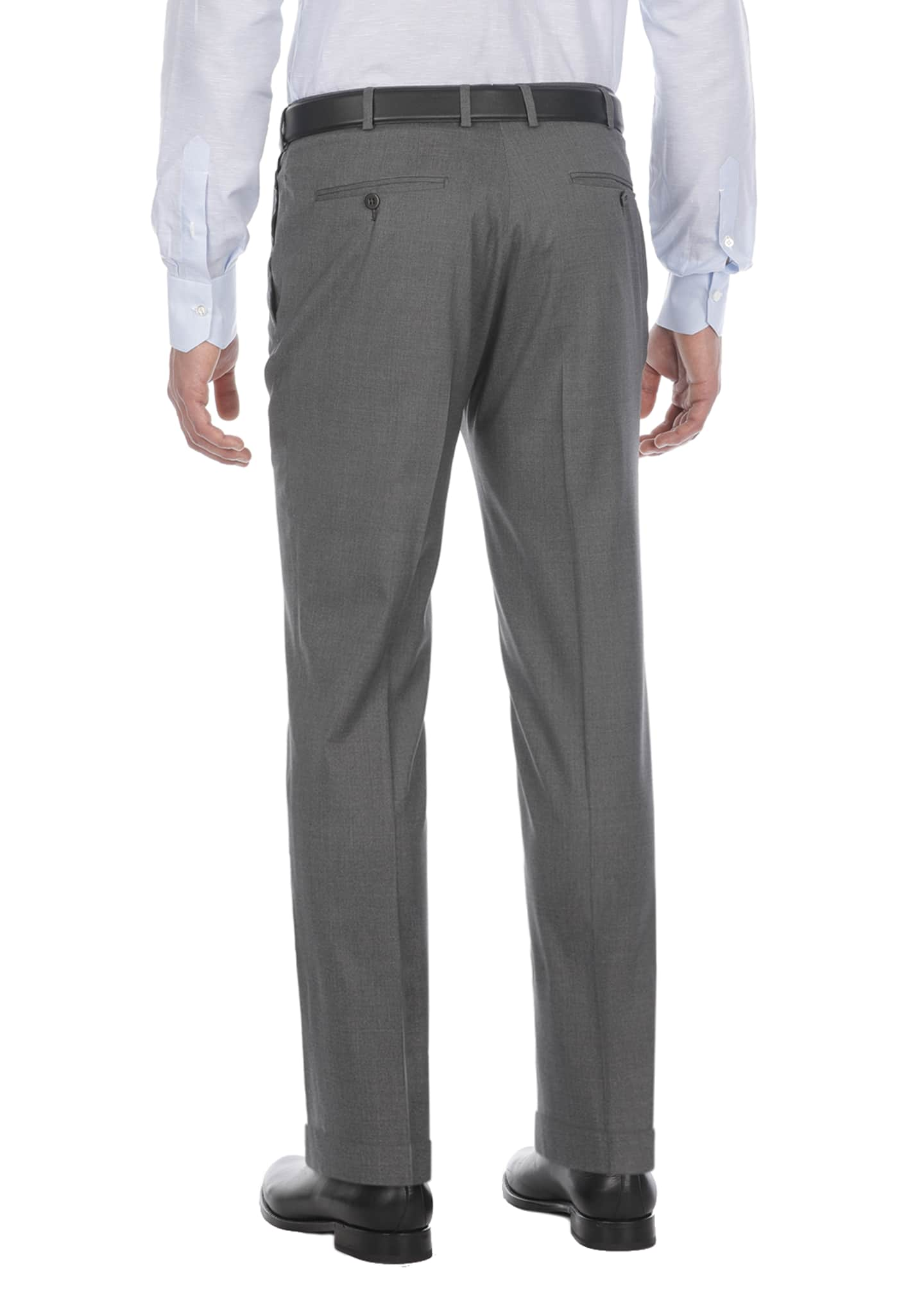 Image 2 of 2: Comfort Wool-Blend Dress Pants
