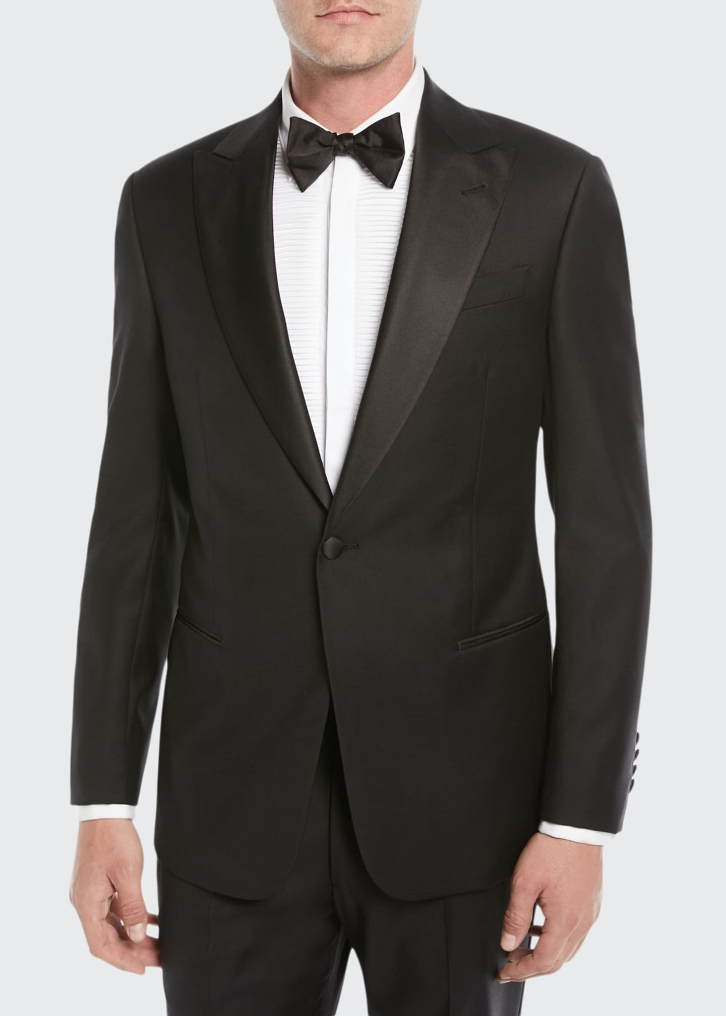 Emporio Armani Men's Super 130s Wool Two-Piece Tuxedo