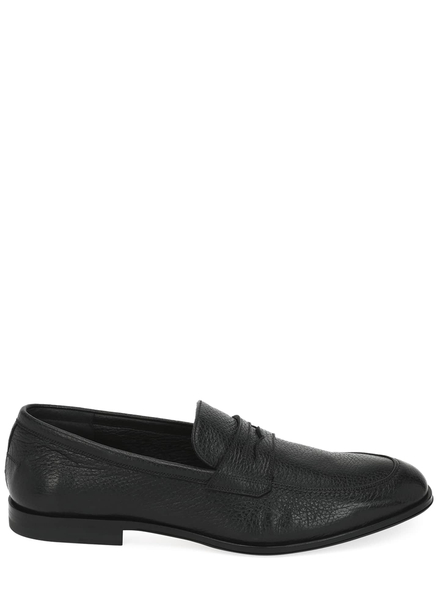Image 2 of 3: Webb Leather Penny Loafer