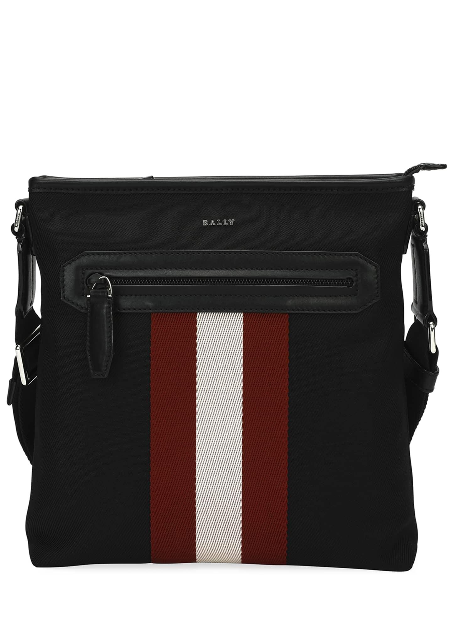 Bally Currios Trainspotting Knit Crossbody Bag