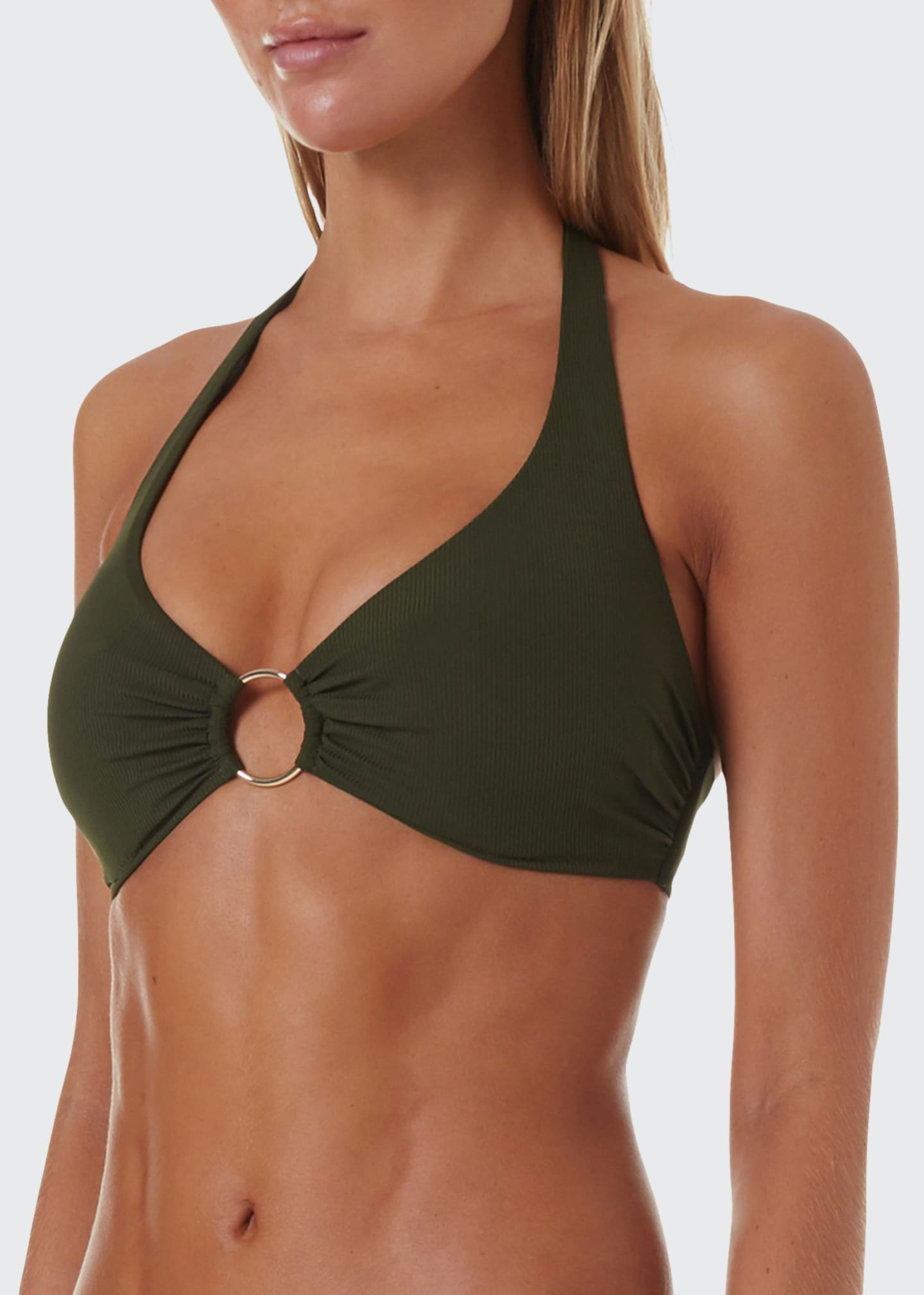 Melissa Odabash Brussels Halter Luxe Swim Top