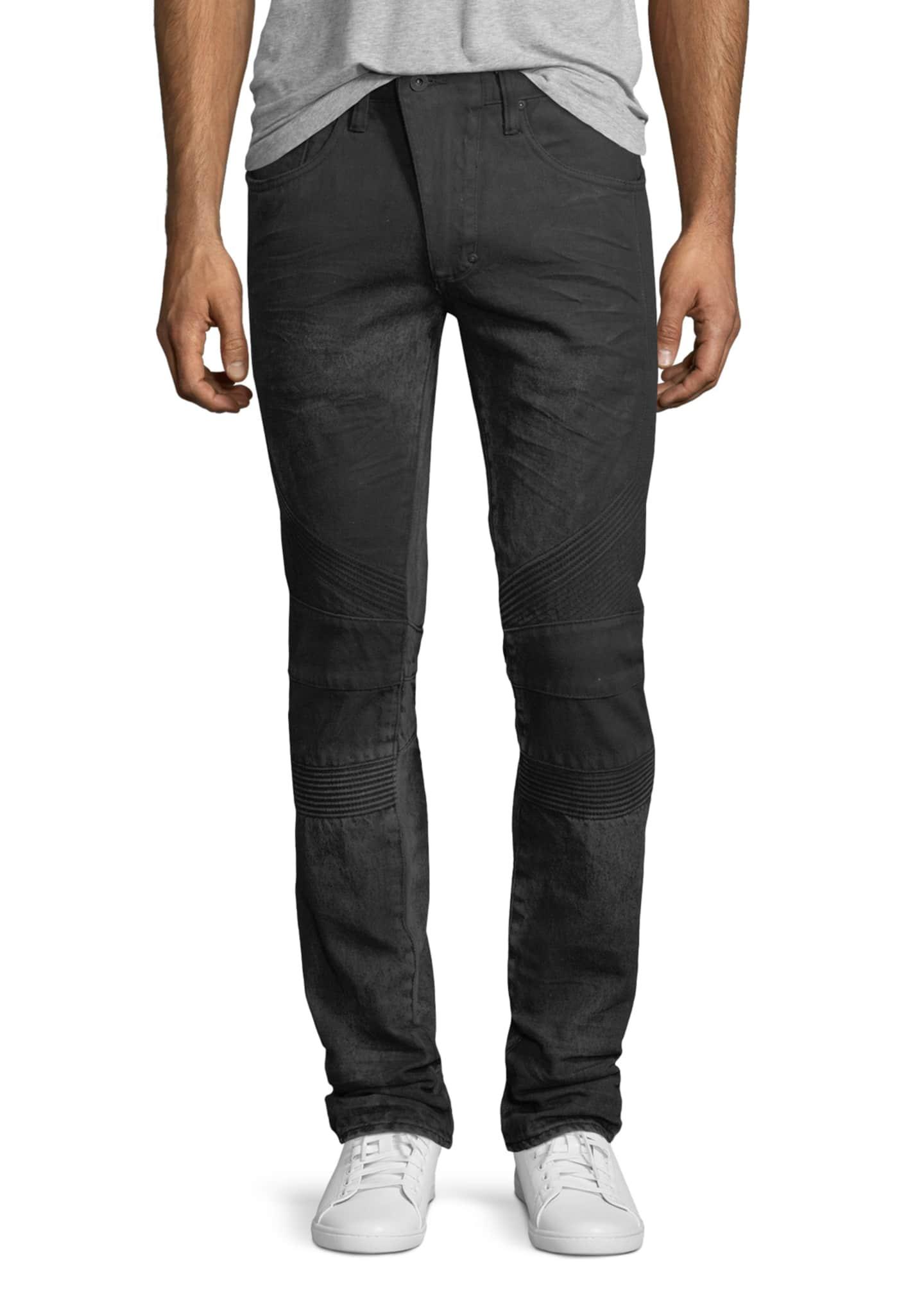 PRPS Le Sabre Moto Slim-Straight Jeans