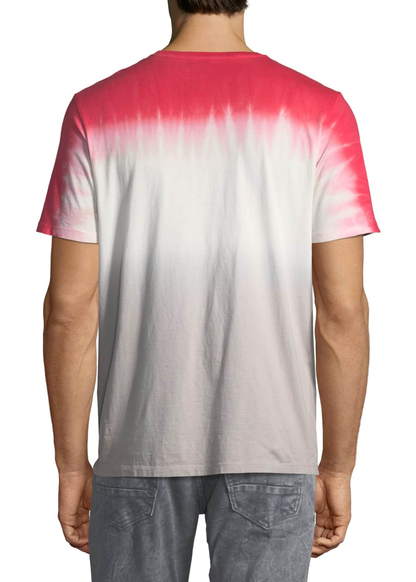 Image 2 of 3: Graphic Tie-Dye Short-Sleeve T-Shirt