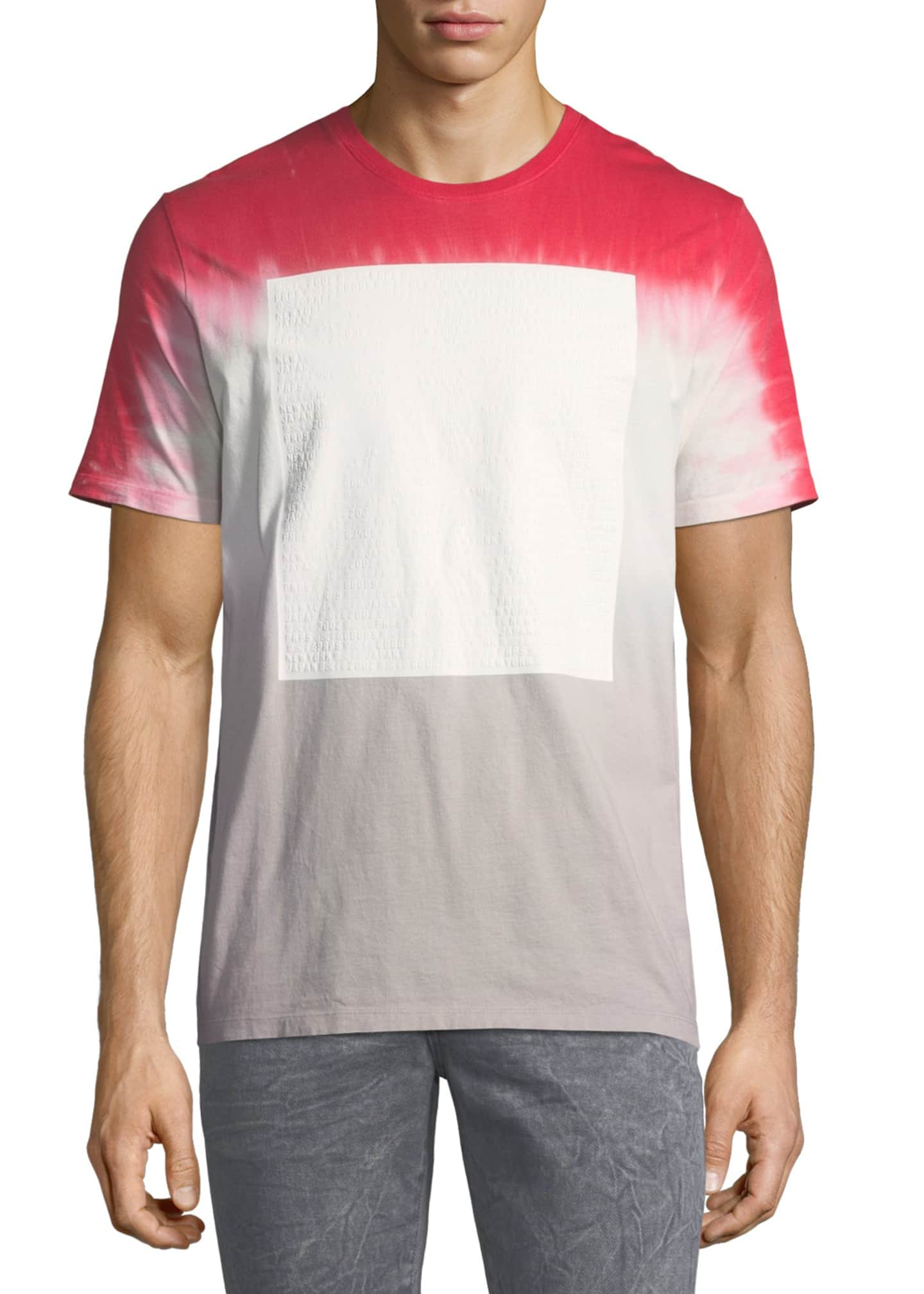 Image 1 of 3: Graphic Tie-Dye Short-Sleeve T-Shirt