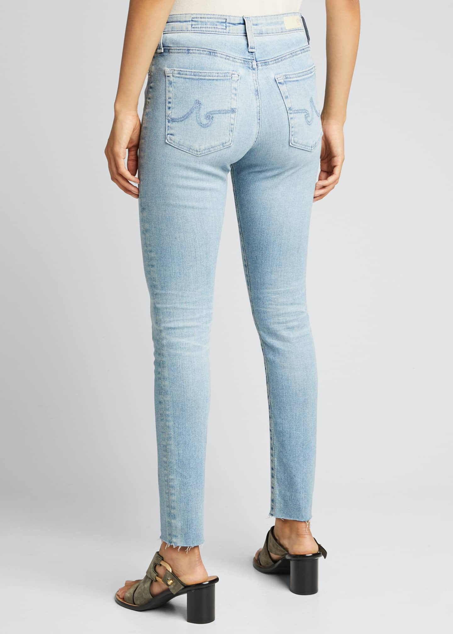 Image 2 of 5: The Farrah High-Rise Skinny Ankle Jeans