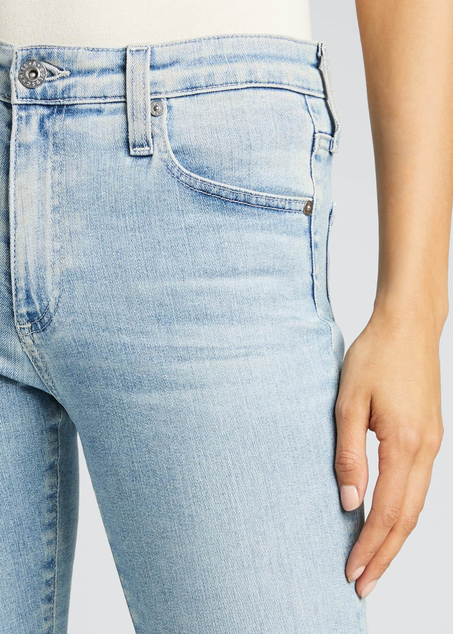 Image 4 of 5: The Farrah High-Rise Skinny Ankle Jeans