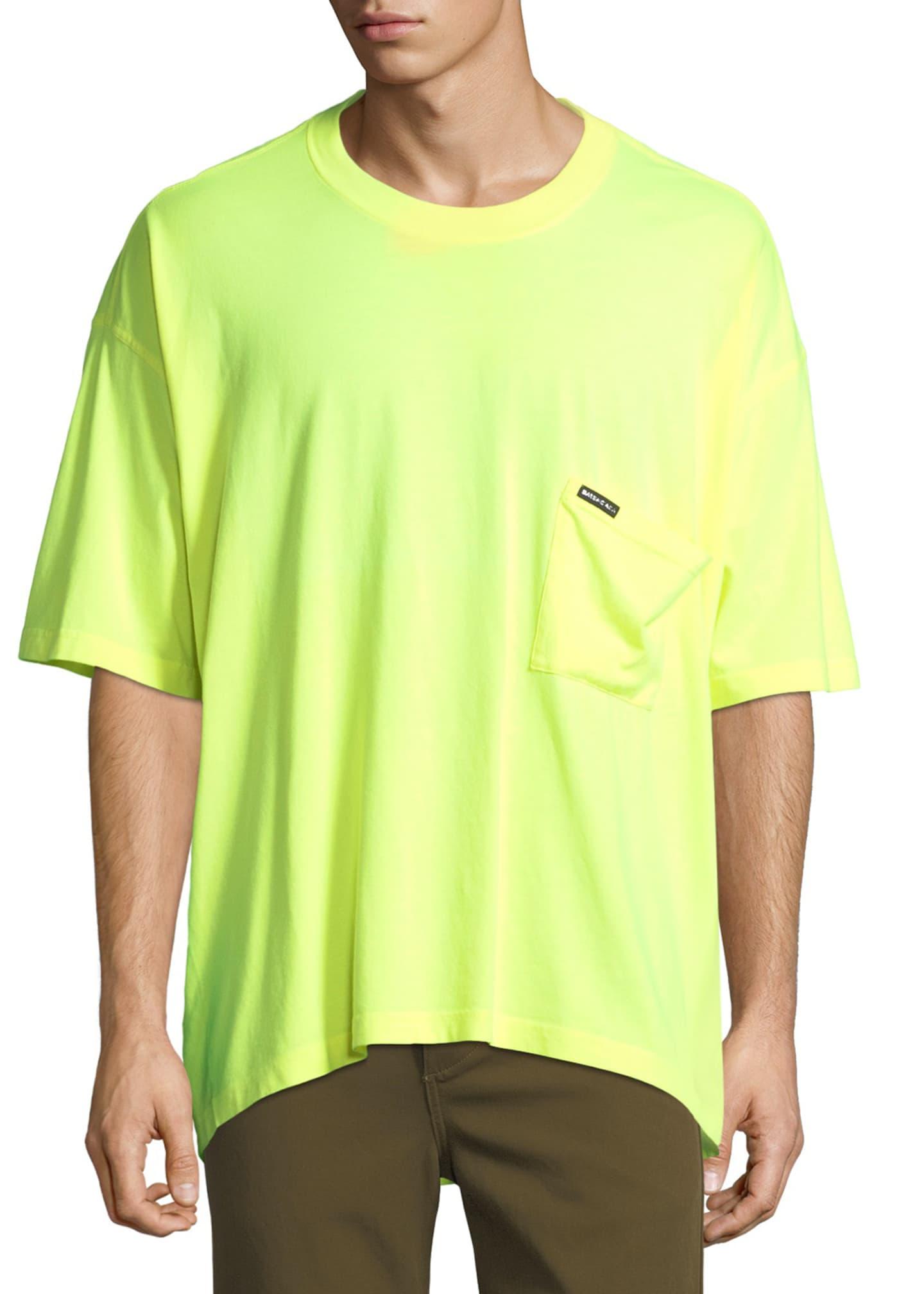 Balenciaga Oversized Pocket T-Shirt