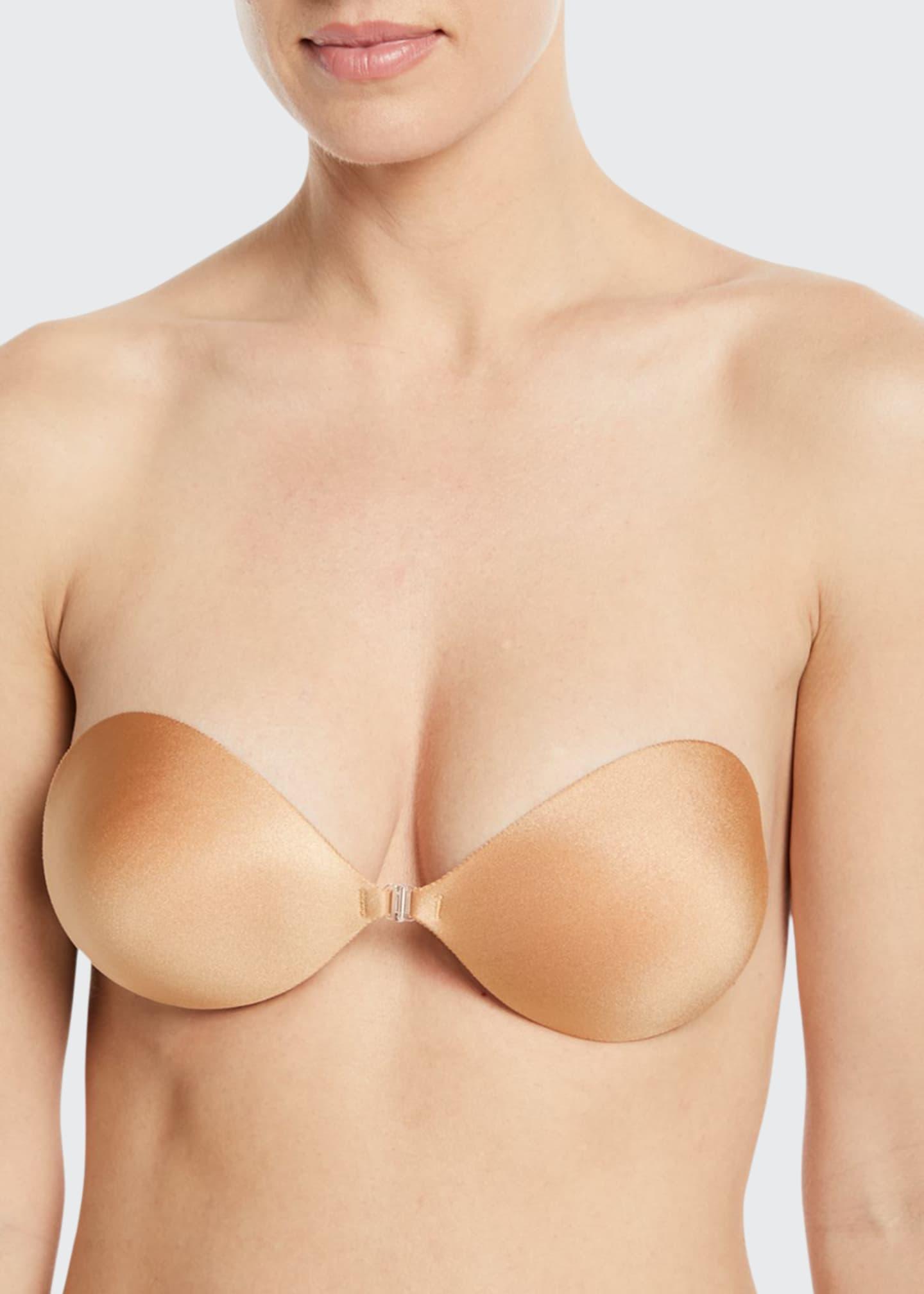 Fashion Forms Seamless Push-Up Bra, Nude