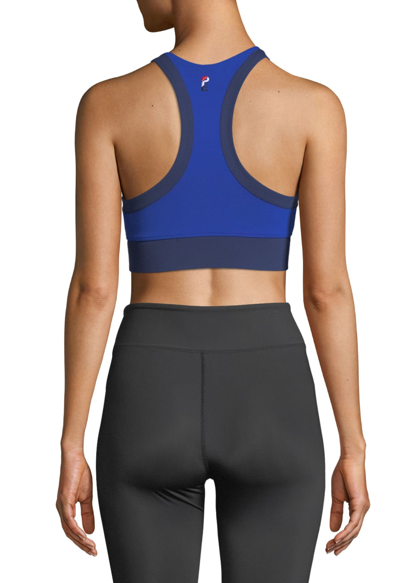 Image 2 of 2: Stop Start Crop Sports Bra