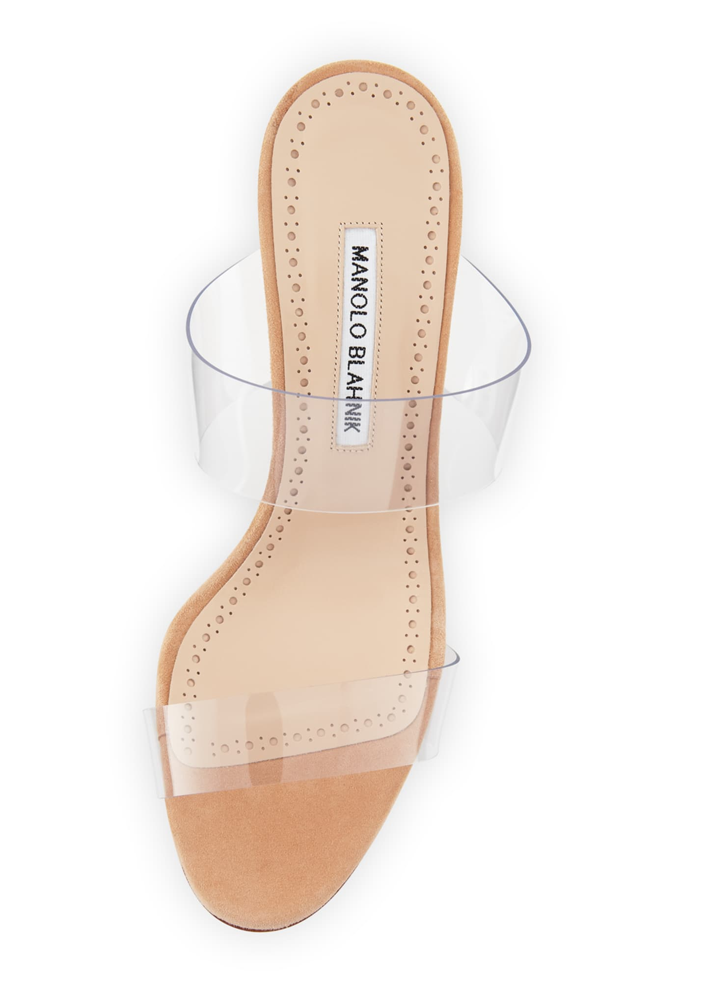 Image 4 of 6: Scolto PVC Two-Strap Sandals