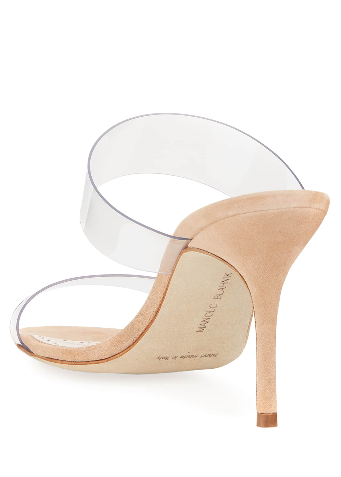 Image 5 of 6: Scolto PVC Two-Strap Sandals