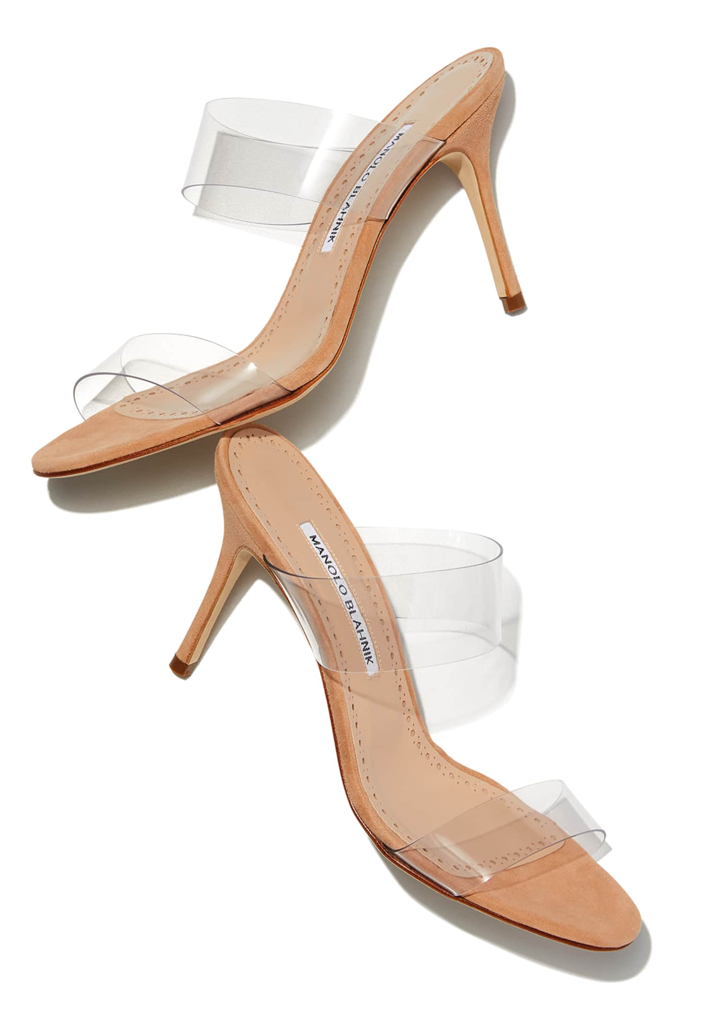 Image 2 of 6: Scolto PVC Two-Strap Sandals