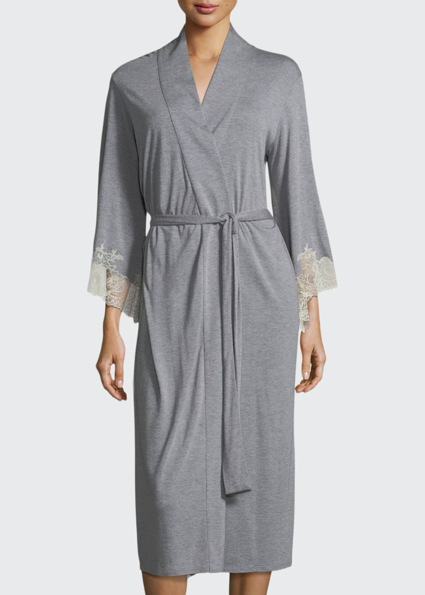 Image 1 of 1: Luxe Shangri-La Knit Robe