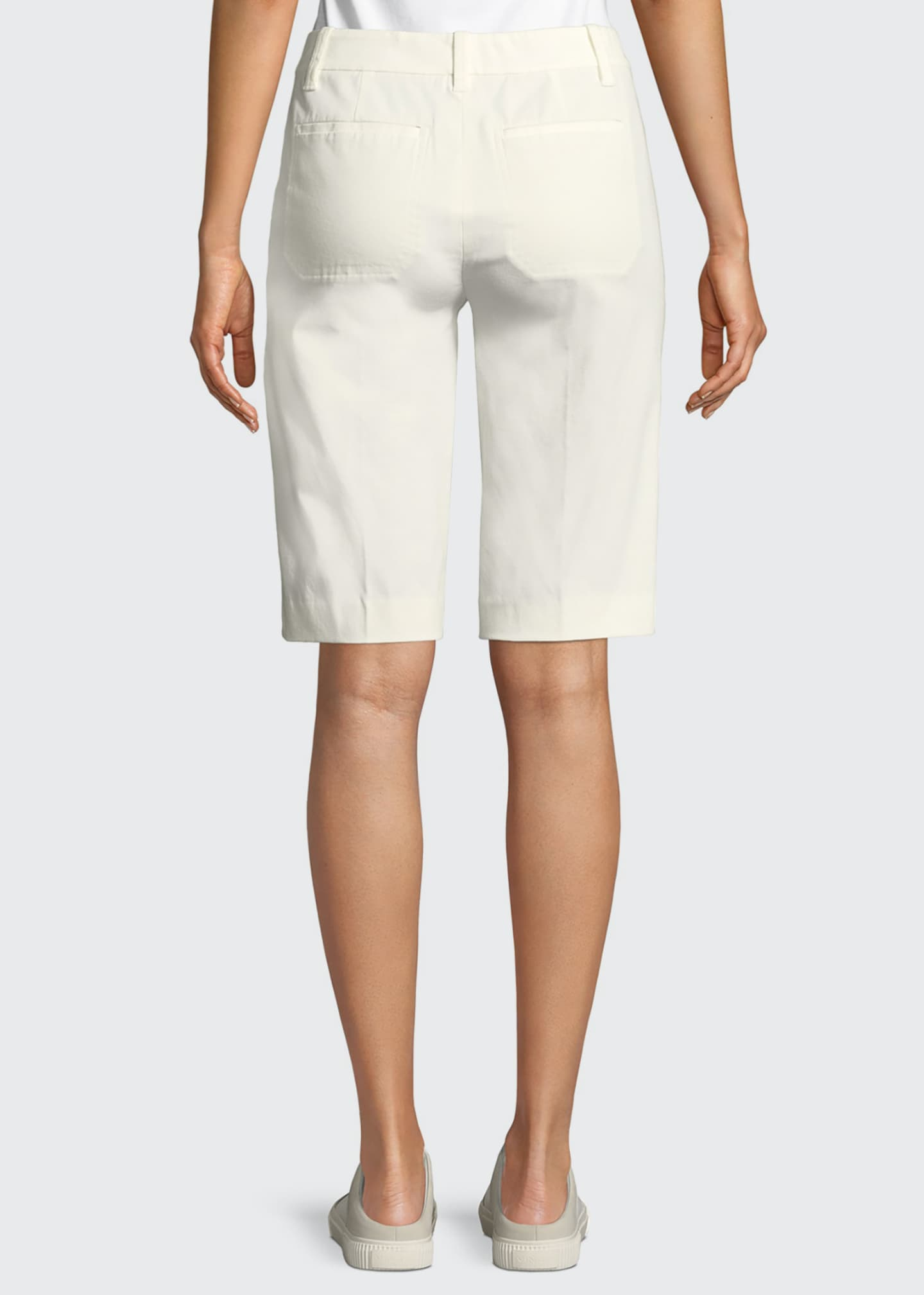 Image 2 of 3: Coin-Pocket Bermuda Shorts