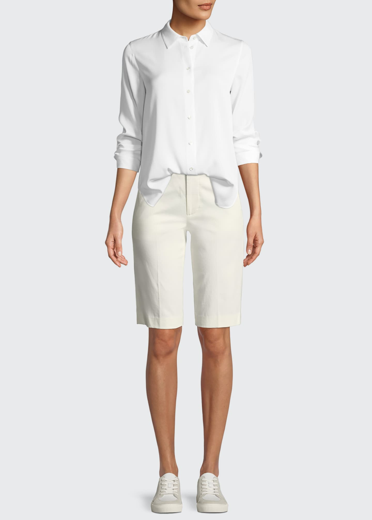 Image 3 of 3: Coin-Pocket Bermuda Shorts