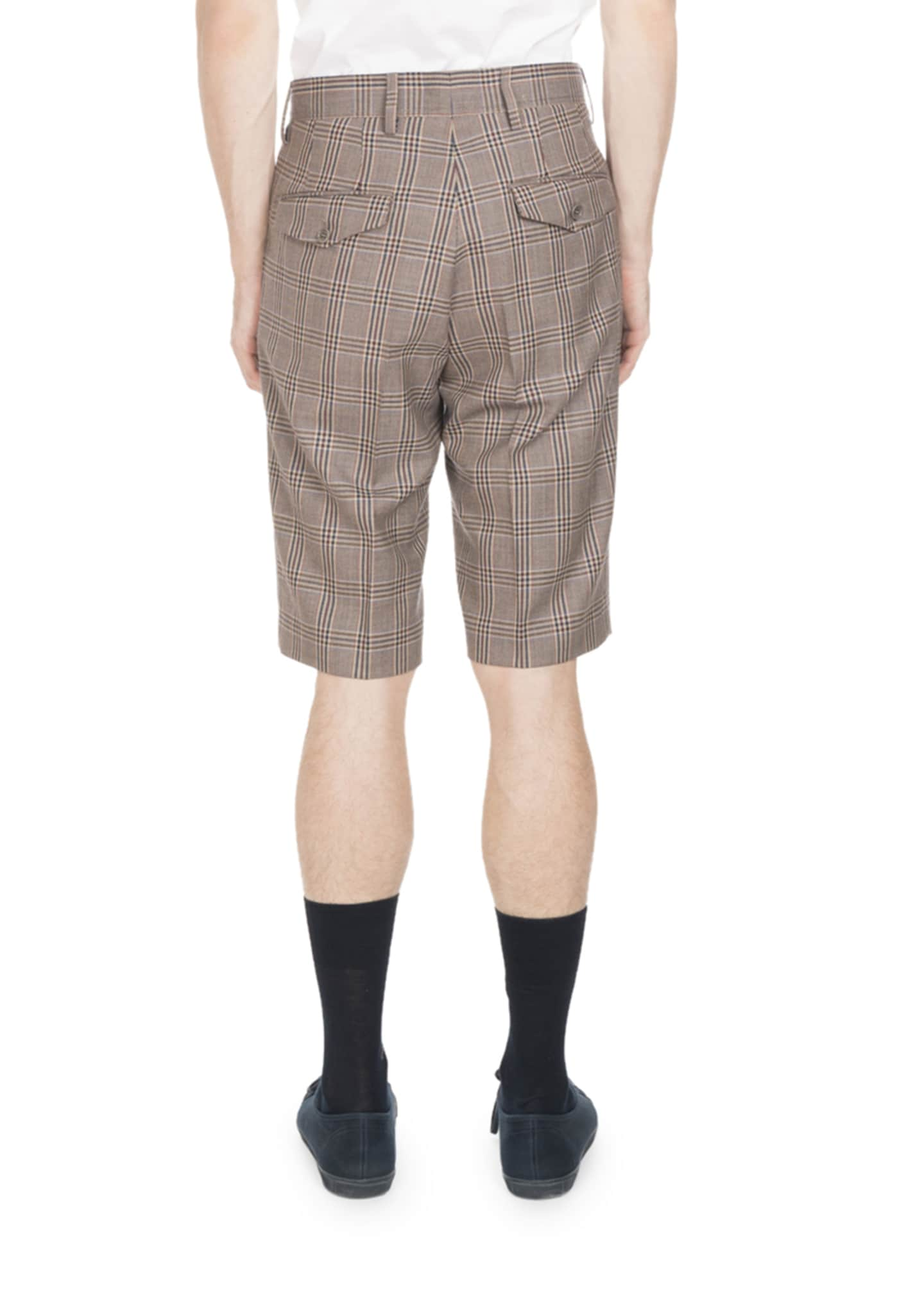 Image 2 of 2: PLAID SHORT