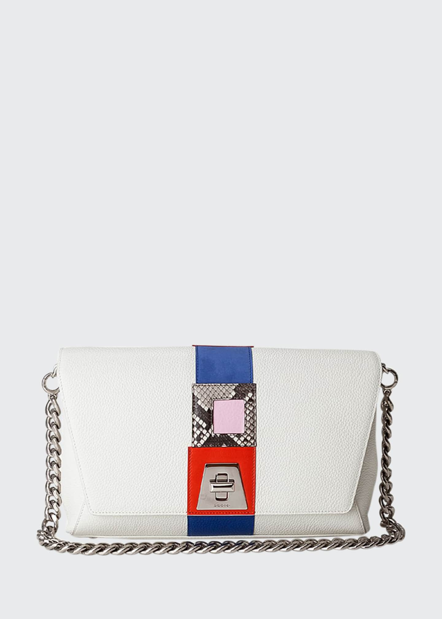 Akris Anouk Day Patchwork Shoulder Bag