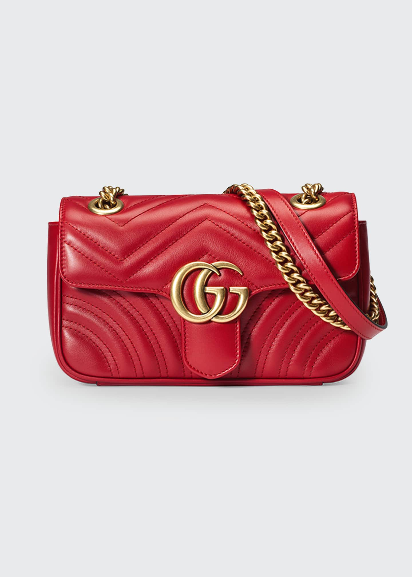 Gucci GG Marmont 2.0 Mini Matelasse Shoulder Bag