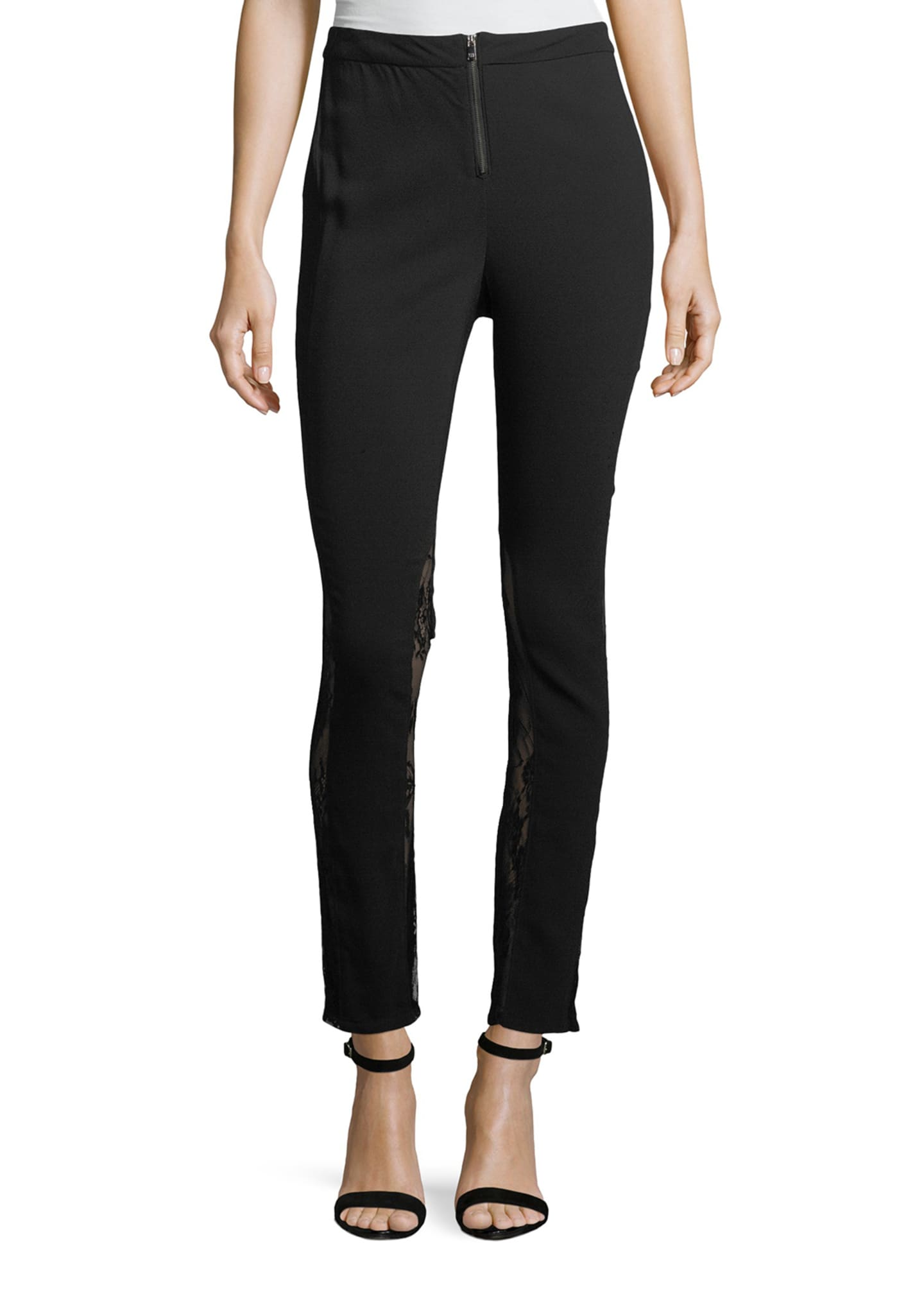 Haute Hippie The Thorny Rose Skinny Pants with