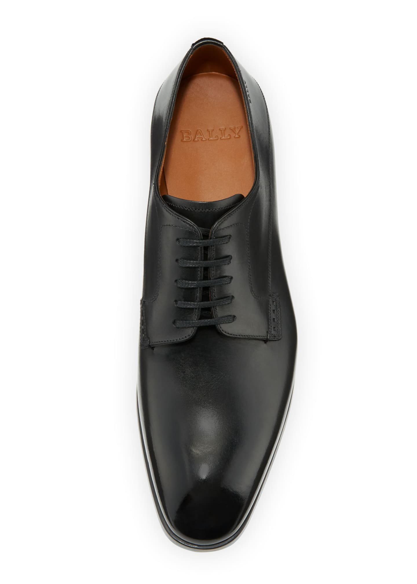 Image 2 of 3: Lantel Classic Leather Derby Shoe