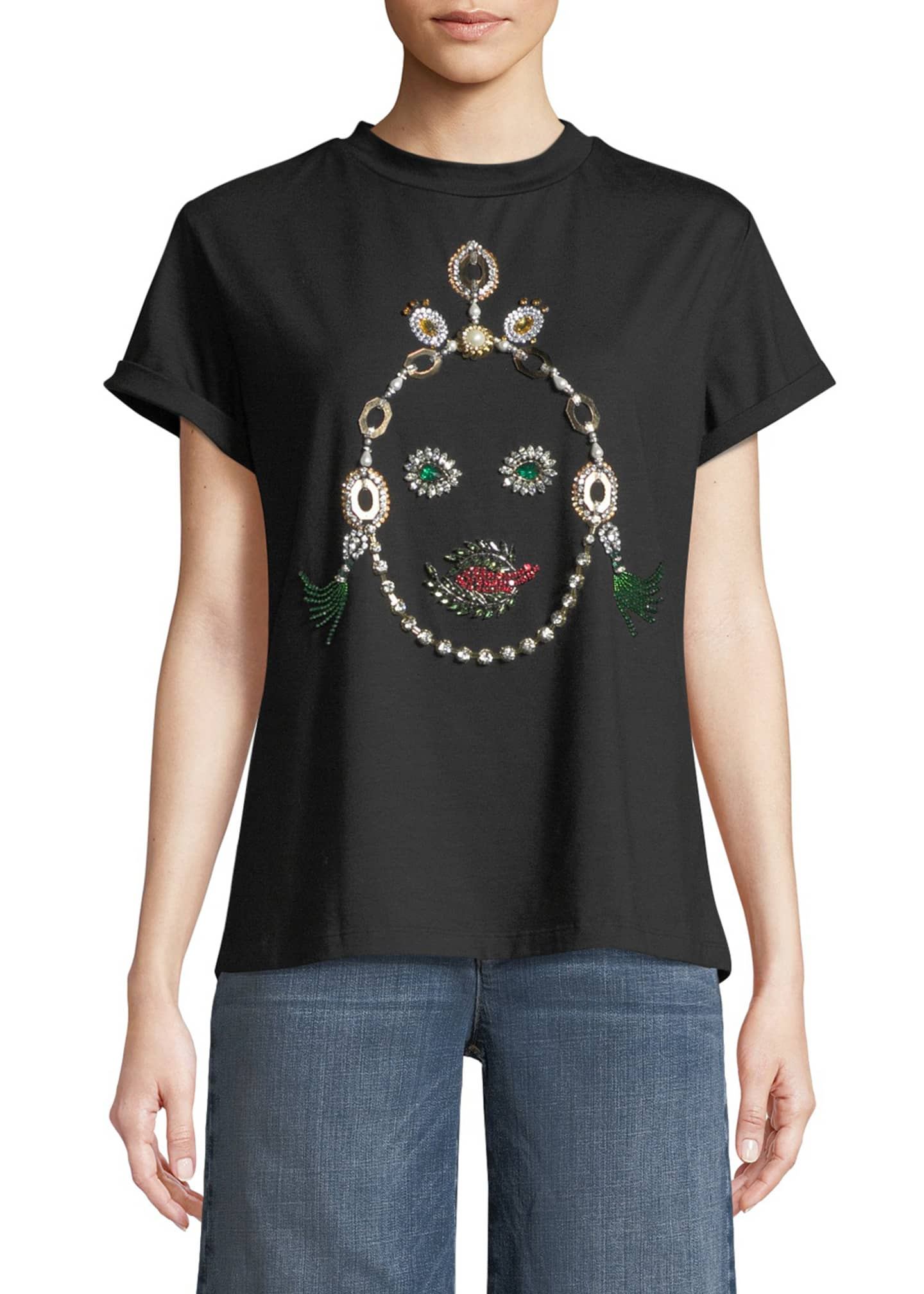 BAT GIO by Giovanna Battaglia Engelbert Jeweled Face