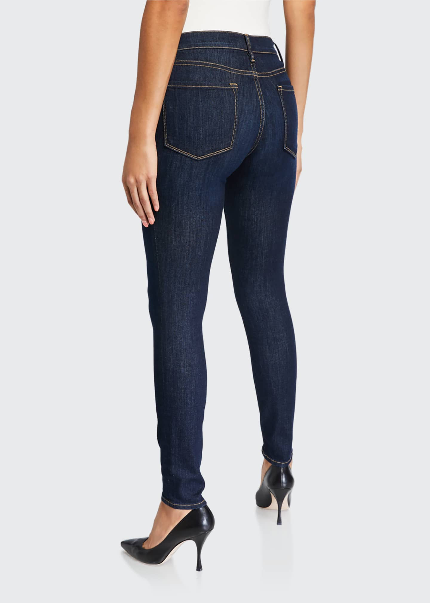 Image 2 of 5: Le Skinny de Jeanne Ankle Jeans, Huntley