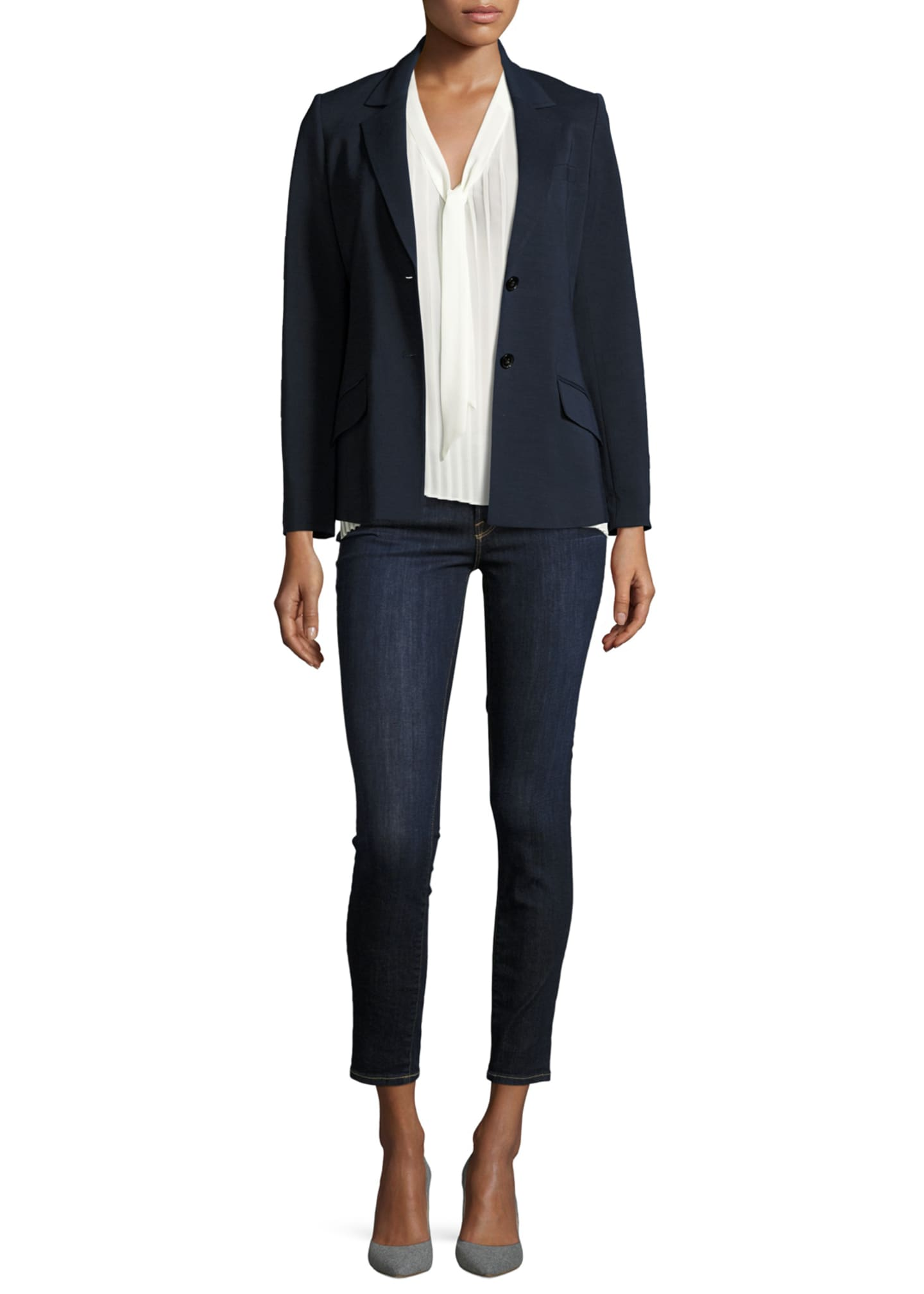 Image 4 of 5: Le Skinny de Jeanne Ankle Jeans, Huntley