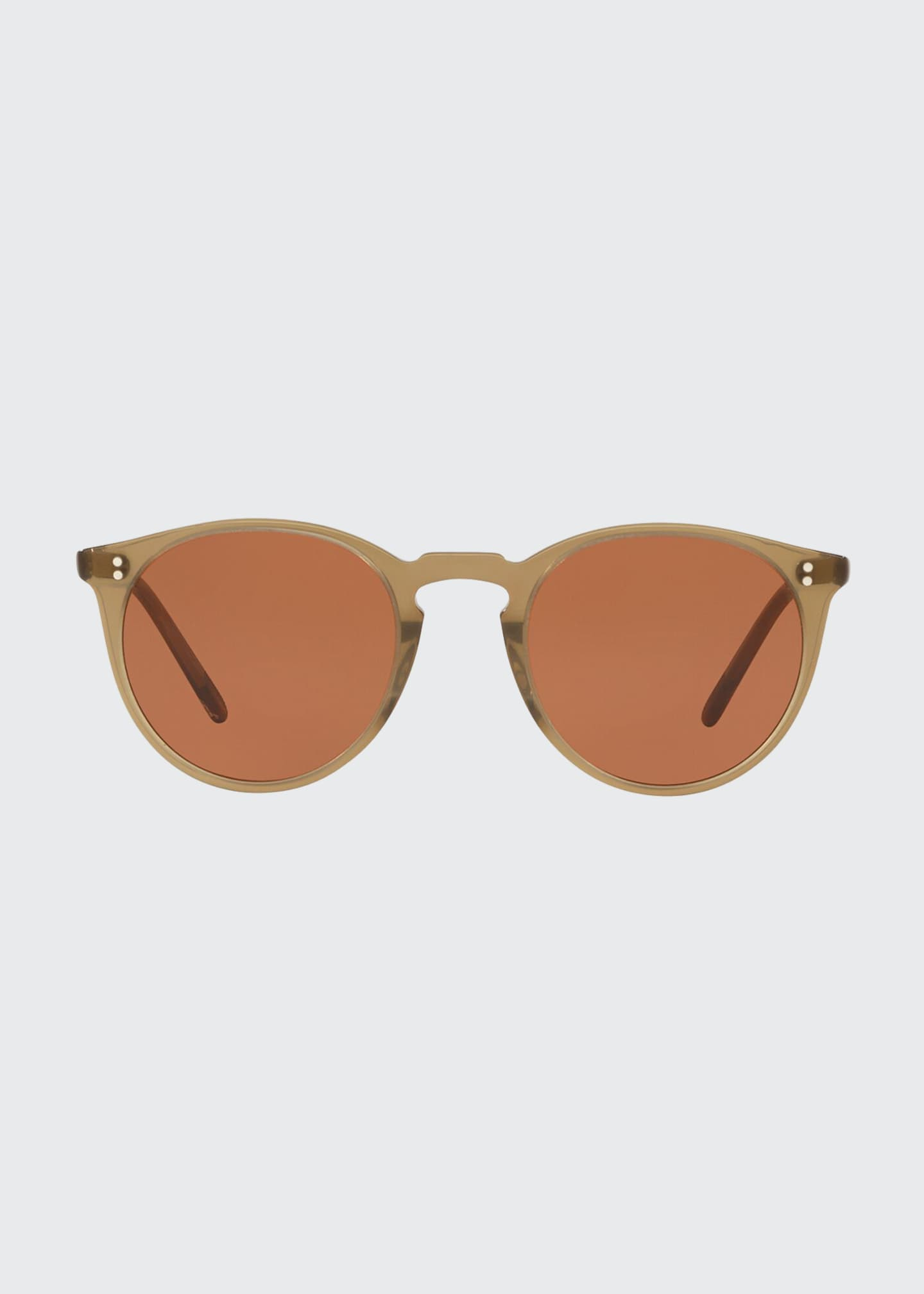 Image 2 of 2: O'Malley Oval Acetate Sunglasses