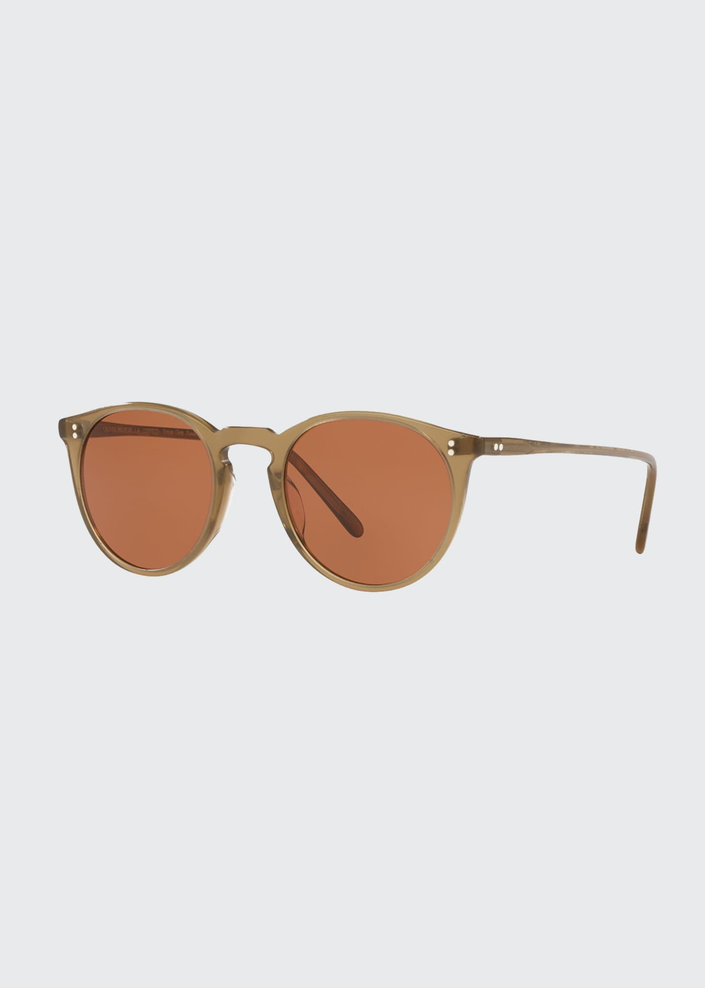Image 1 of 2: O'Malley Oval Acetate Sunglasses
