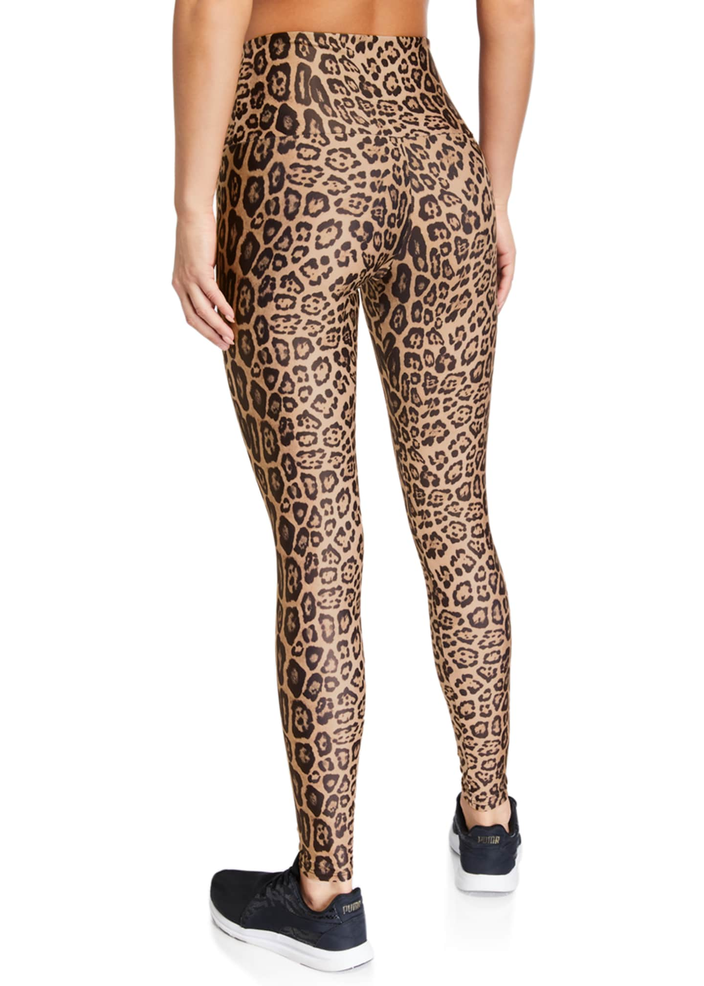 Image 2 of 2: High-Rise Leggings, Leopard