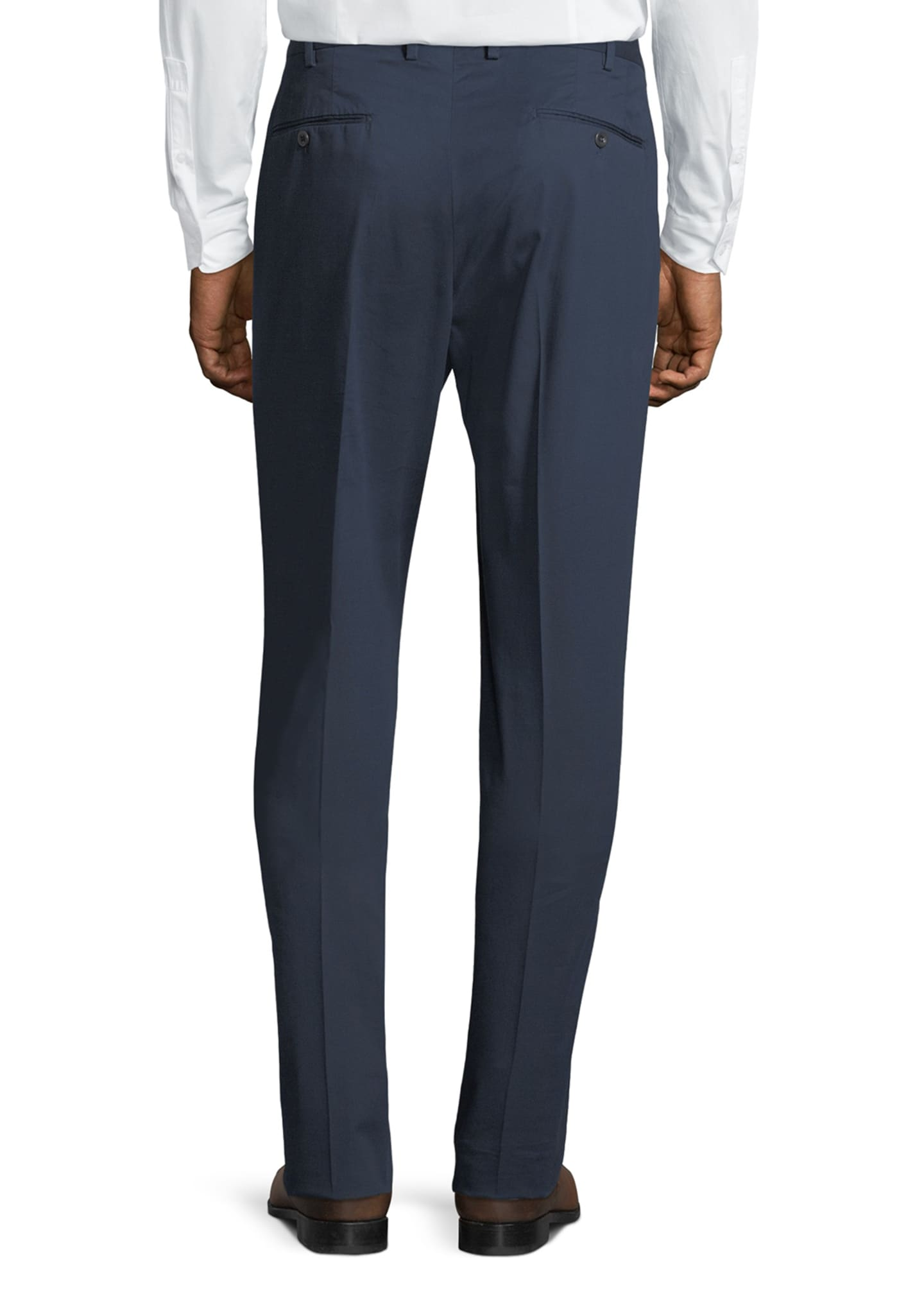Image 2 of 3: Micky Slim-Fit Stretch-Gabardine Pants