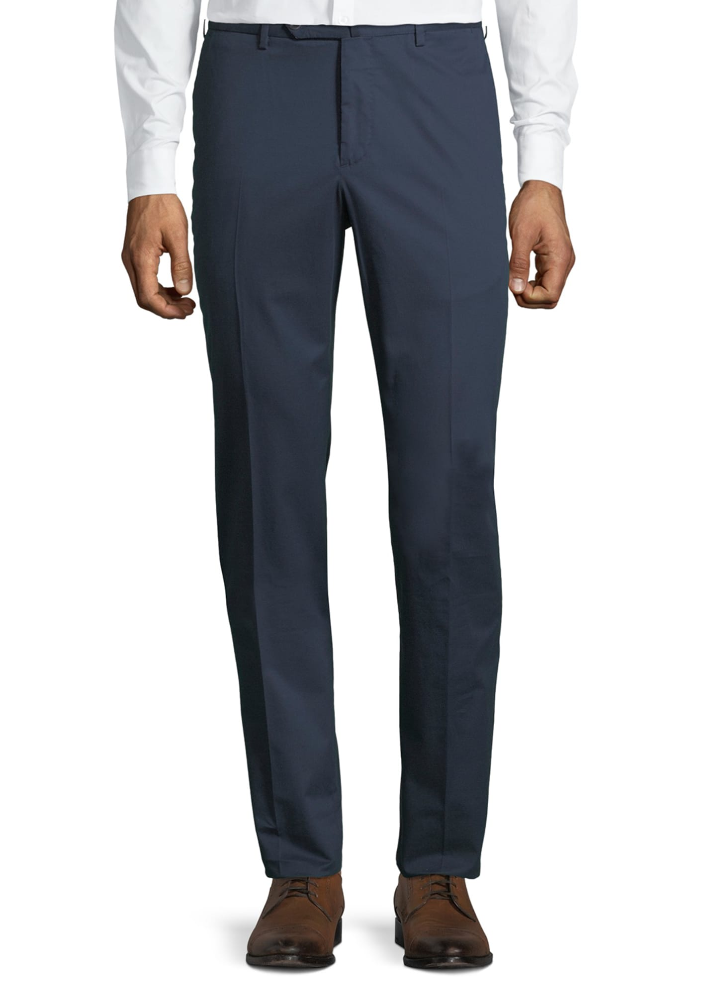 Image 1 of 3: Micky Slim-Fit Stretch-Gabardine Pants