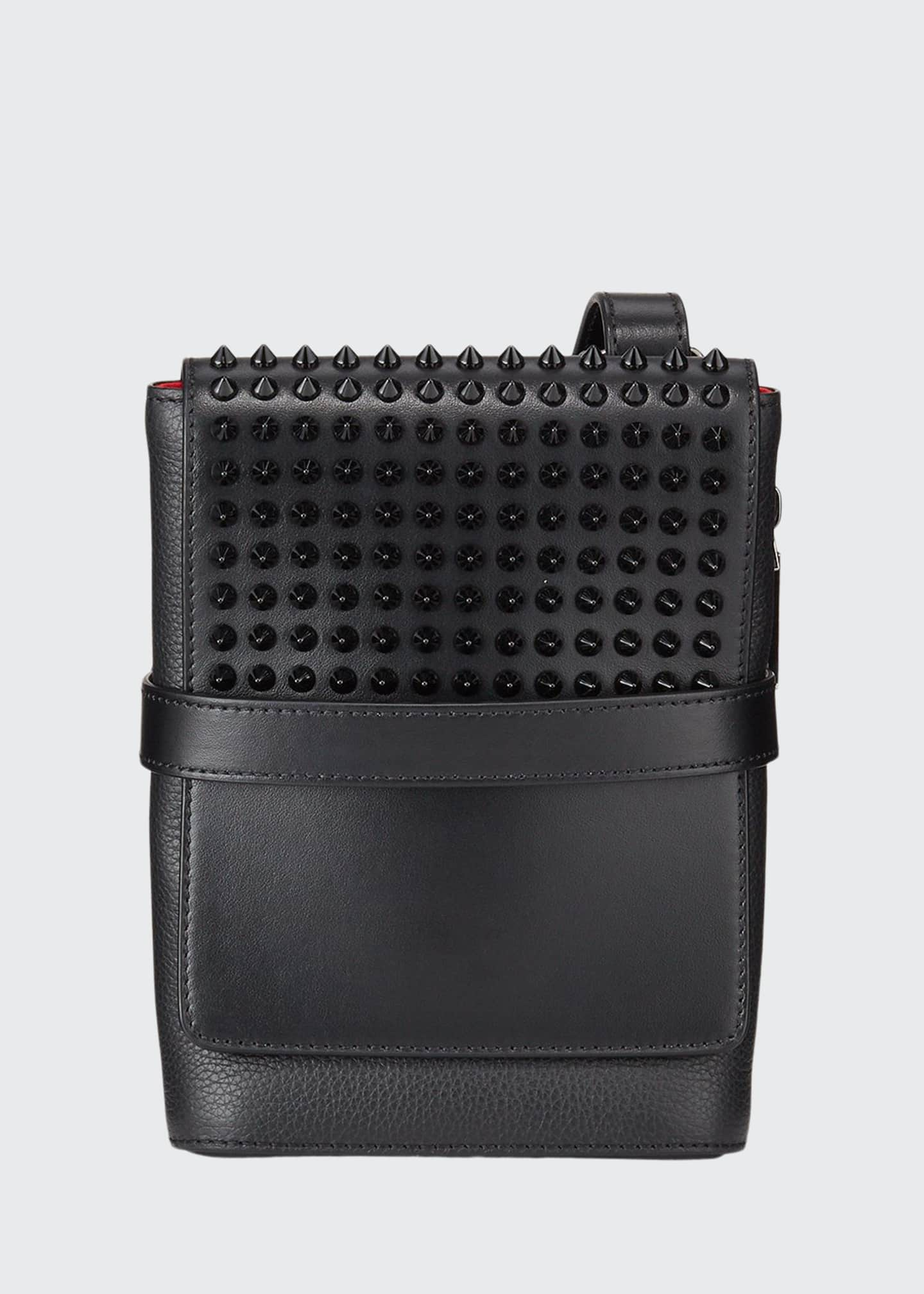 Christian Louboutin Men's Benech Reporter Spiked Leather