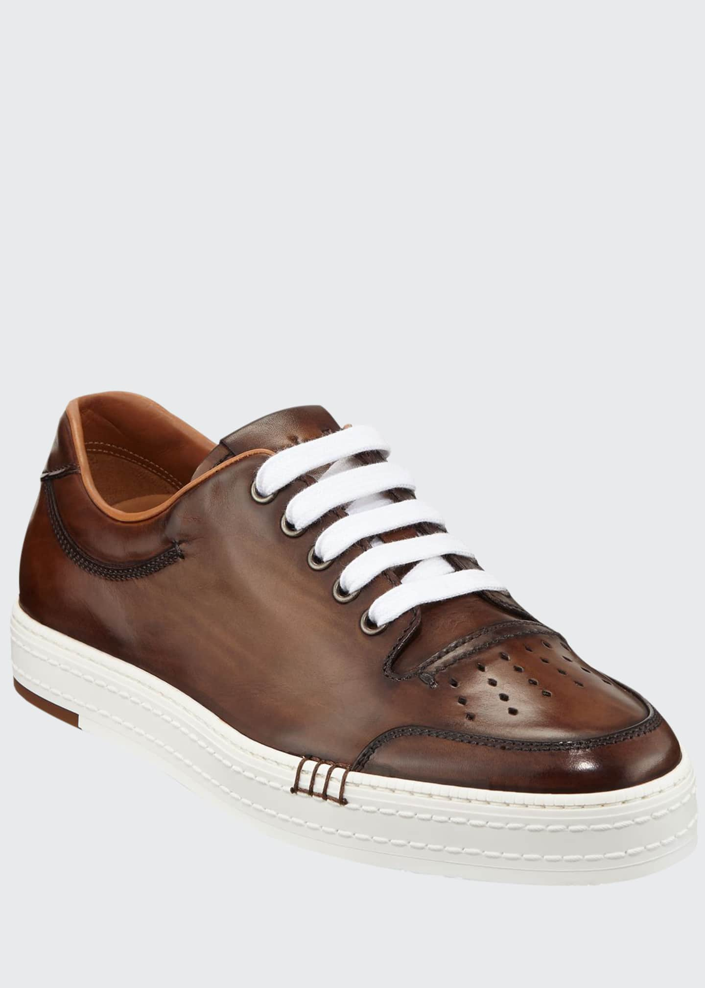 Berluti Men's Playtime Palermo Calf Leather Sneaker