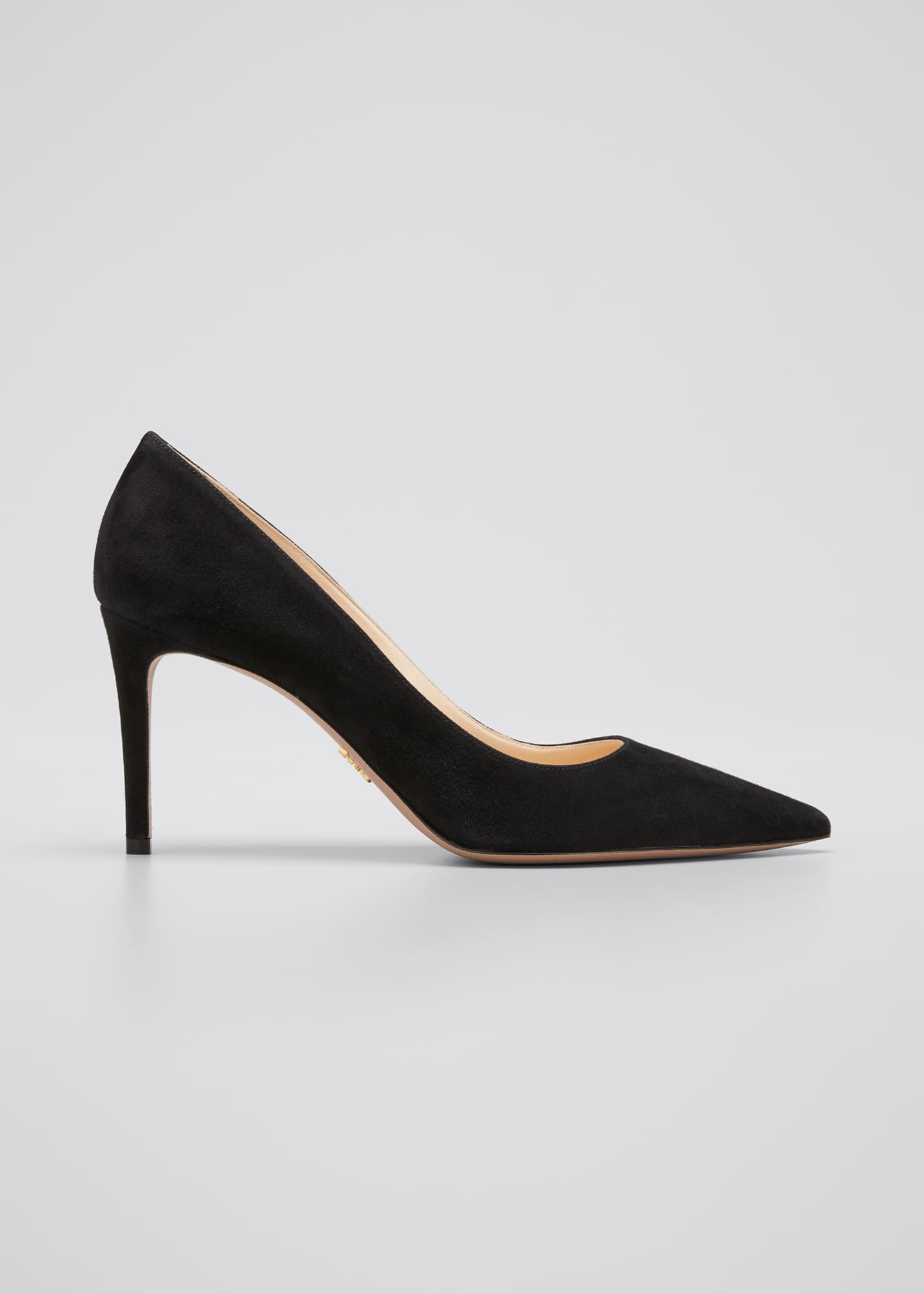 Image 1 of 5: Suede Stiletto 85mm Pumps