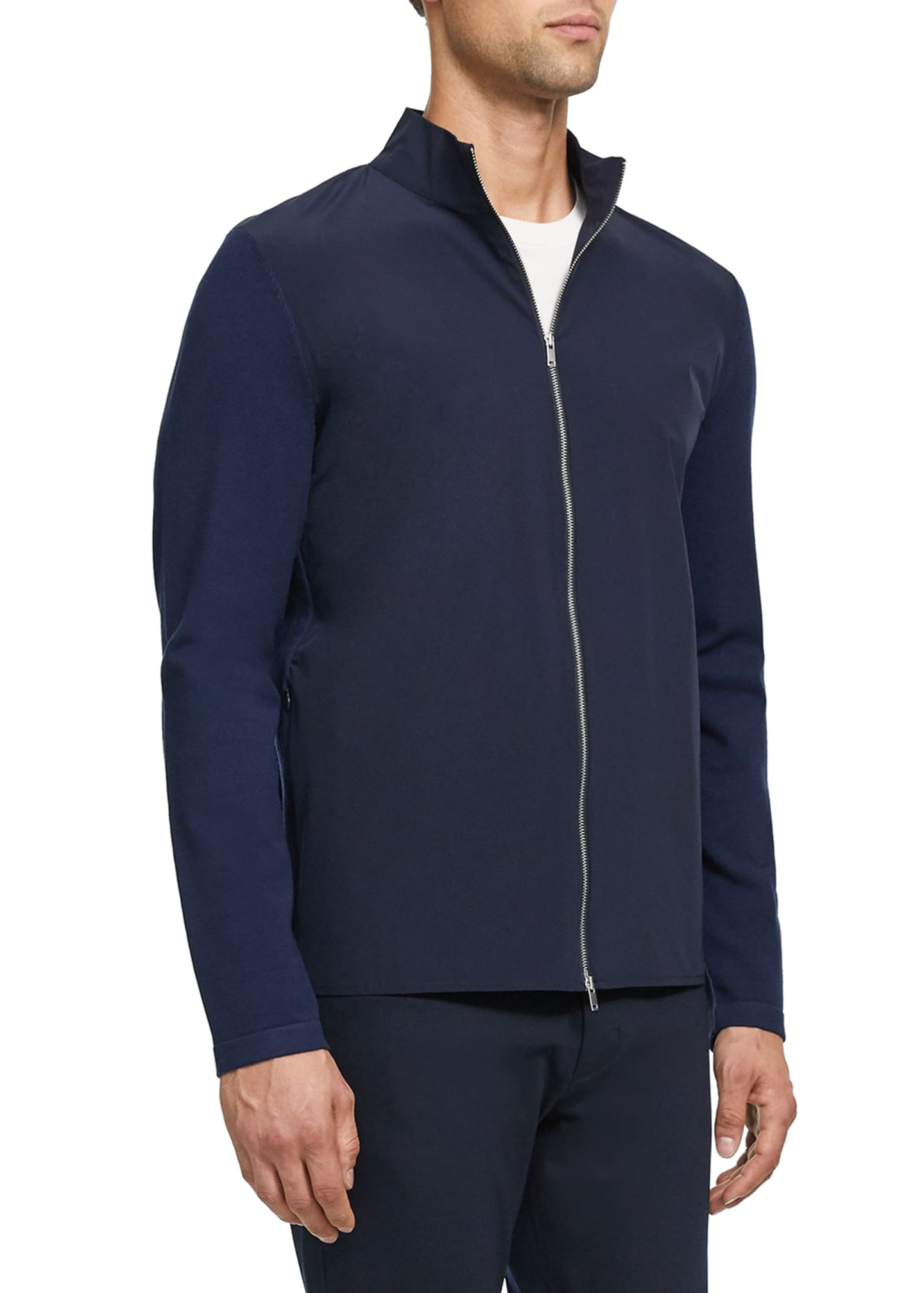 Image 2 of 3: Men's Bellvil Fine Bilen Sweater Jacket