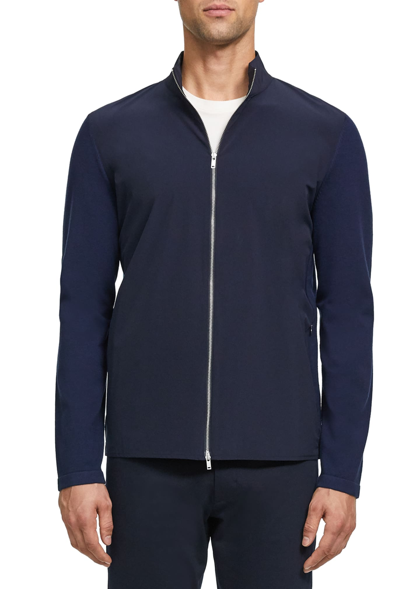 Image 1 of 3: Men's Bellvil Fine Bilen Sweater Jacket