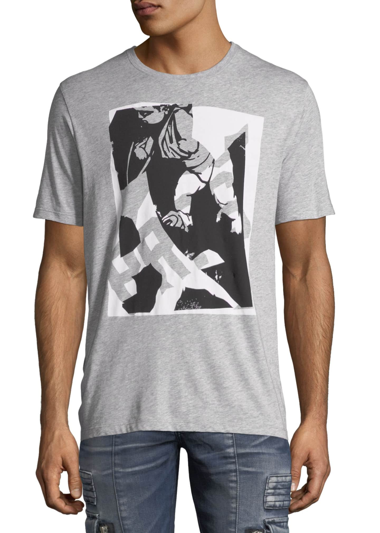 Image 1 of 2: Abstract Logo Graphic T-Shirt