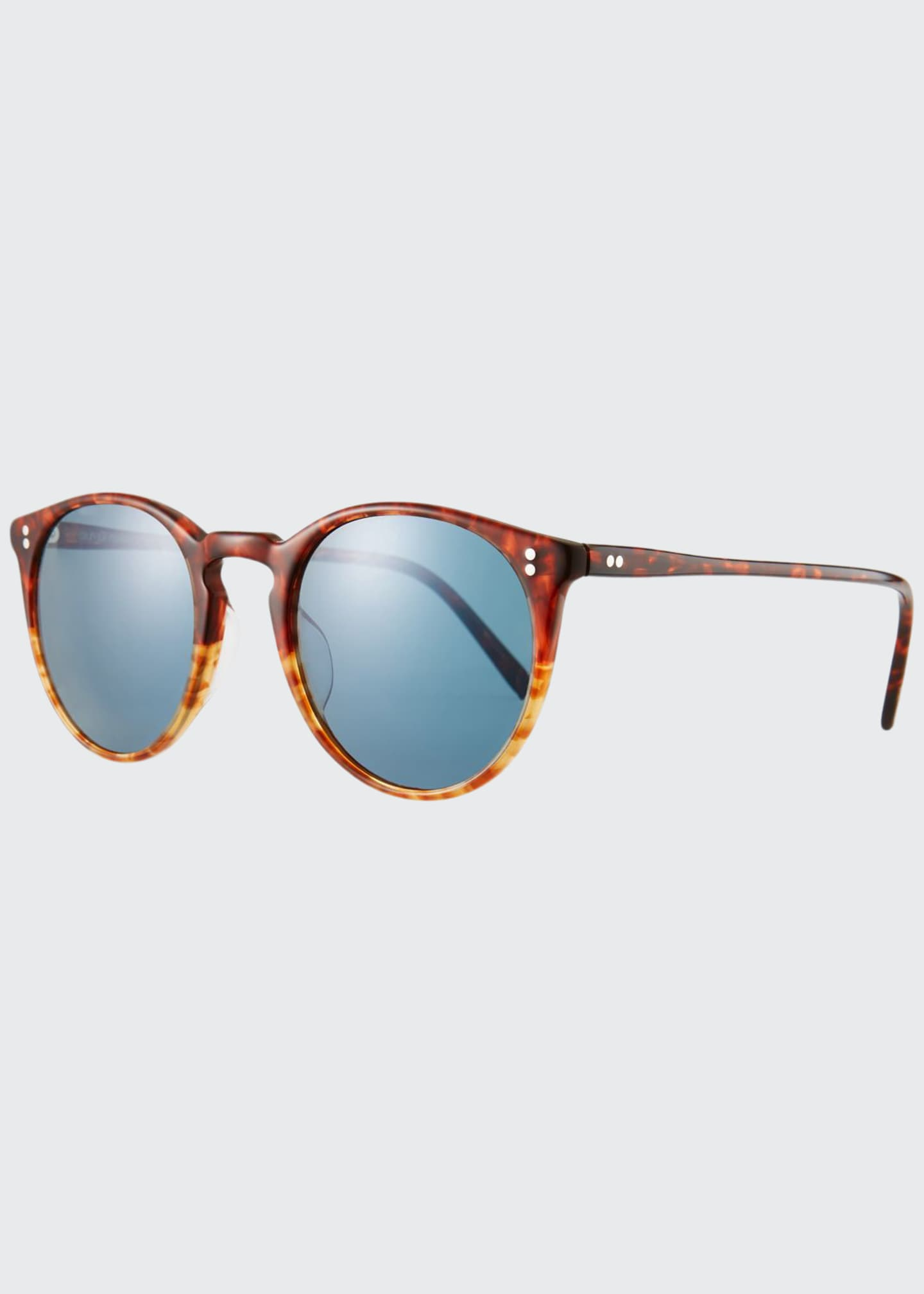 Oliver Peoples Men's O'Malley Peaked Round Photochromic
