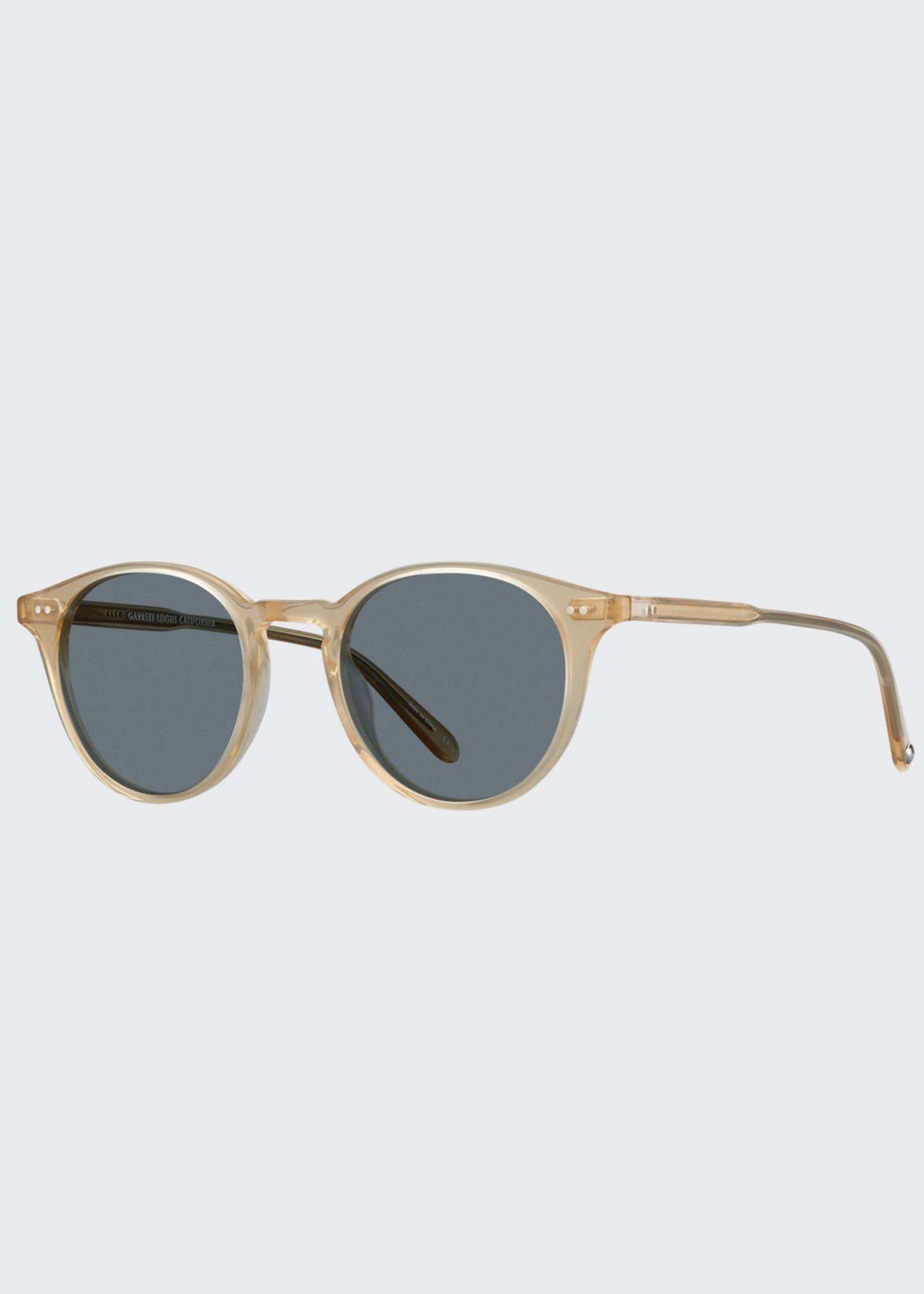 Garrett Leight Men's Clune 47 Acetate Sunglasses