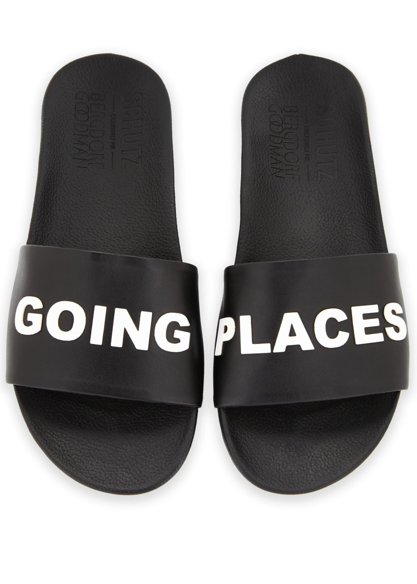 Schutz Going Places Slide Sandal