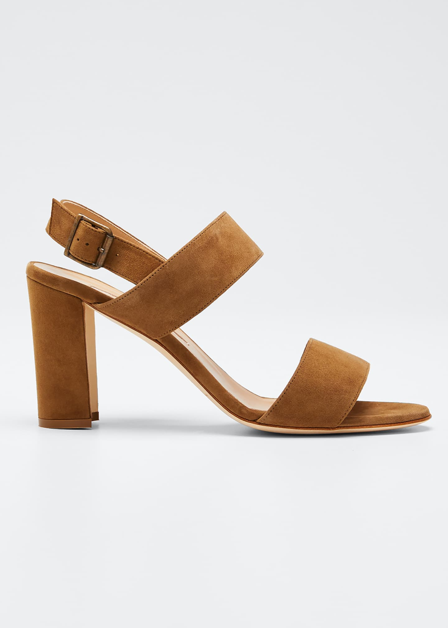 Image 1 of 5: Khan Suede 90mm Sandals