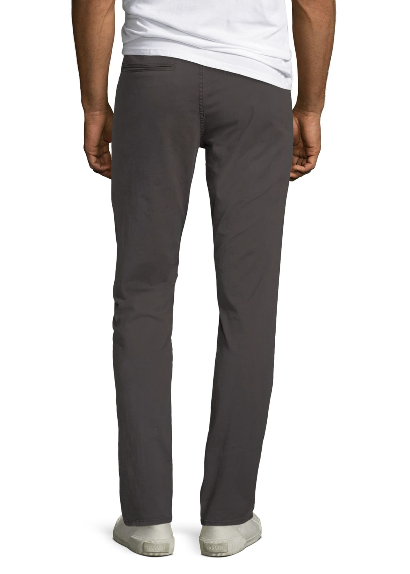 Image 2 of 3: Men's Standard Issue Fit 2 Mid-Rise Relaxed Slim-Fit Jeans, Gray