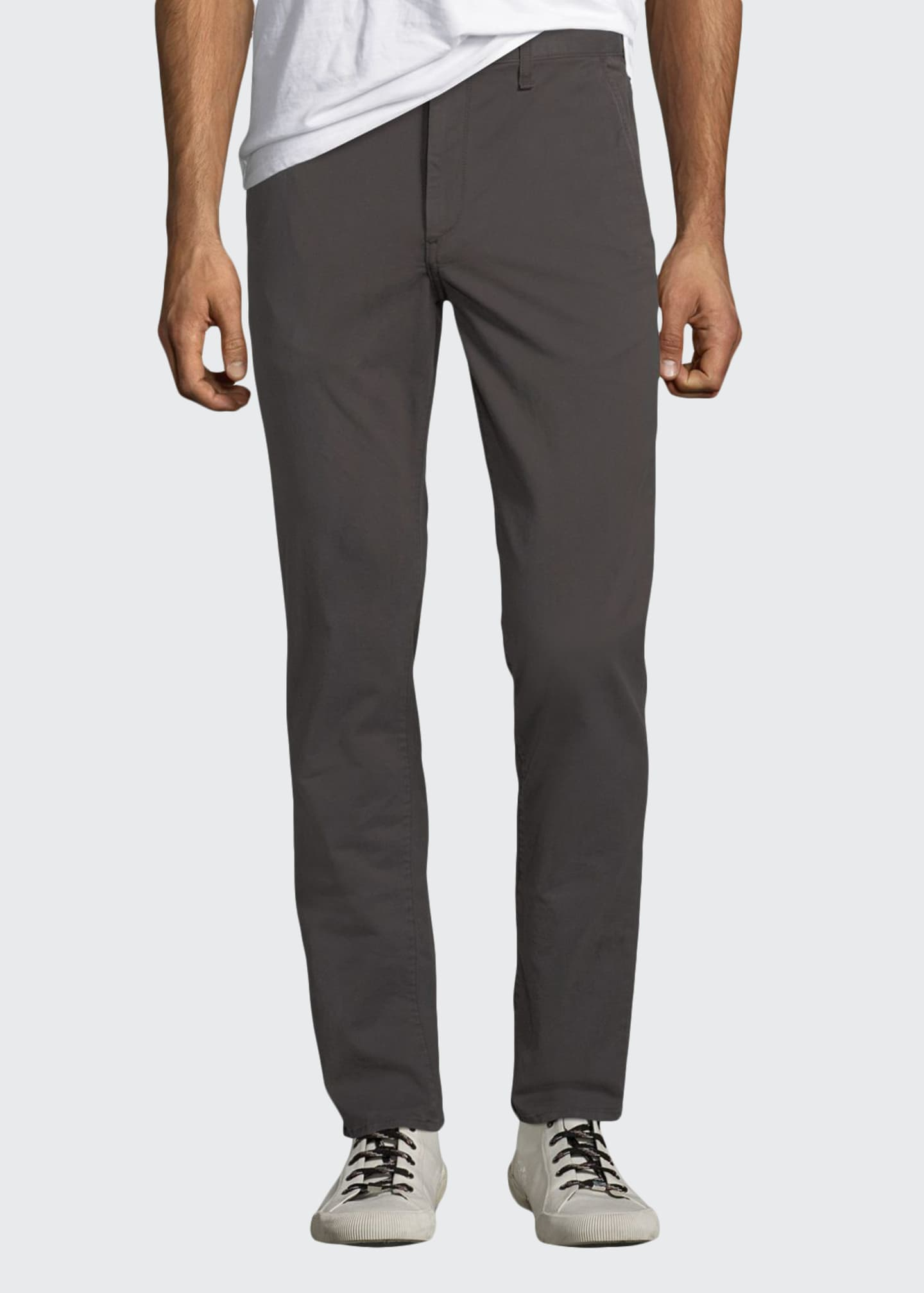 Image 1 of 3: Men's Standard Issue Fit 2 Mid-Rise Relaxed Slim-Fit Jeans, Gray
